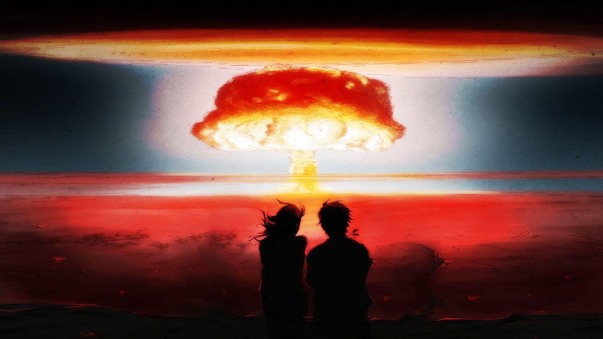 Pin Nuclear Explosion Mushroom Cloud 1920x1200 on Pinterest ...