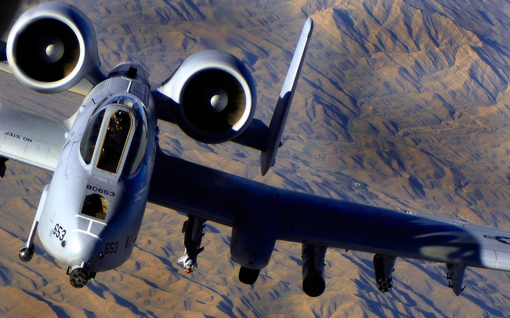 Fairchild Republic A-10 Thunderbolt II Wallpapers ...