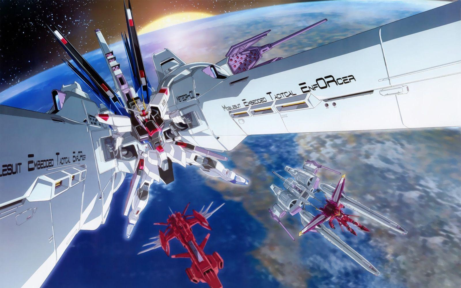 Mobile Suit Gundam SEED & SEED DESTINY No.10 WALLPAPERS Enjoy ...
