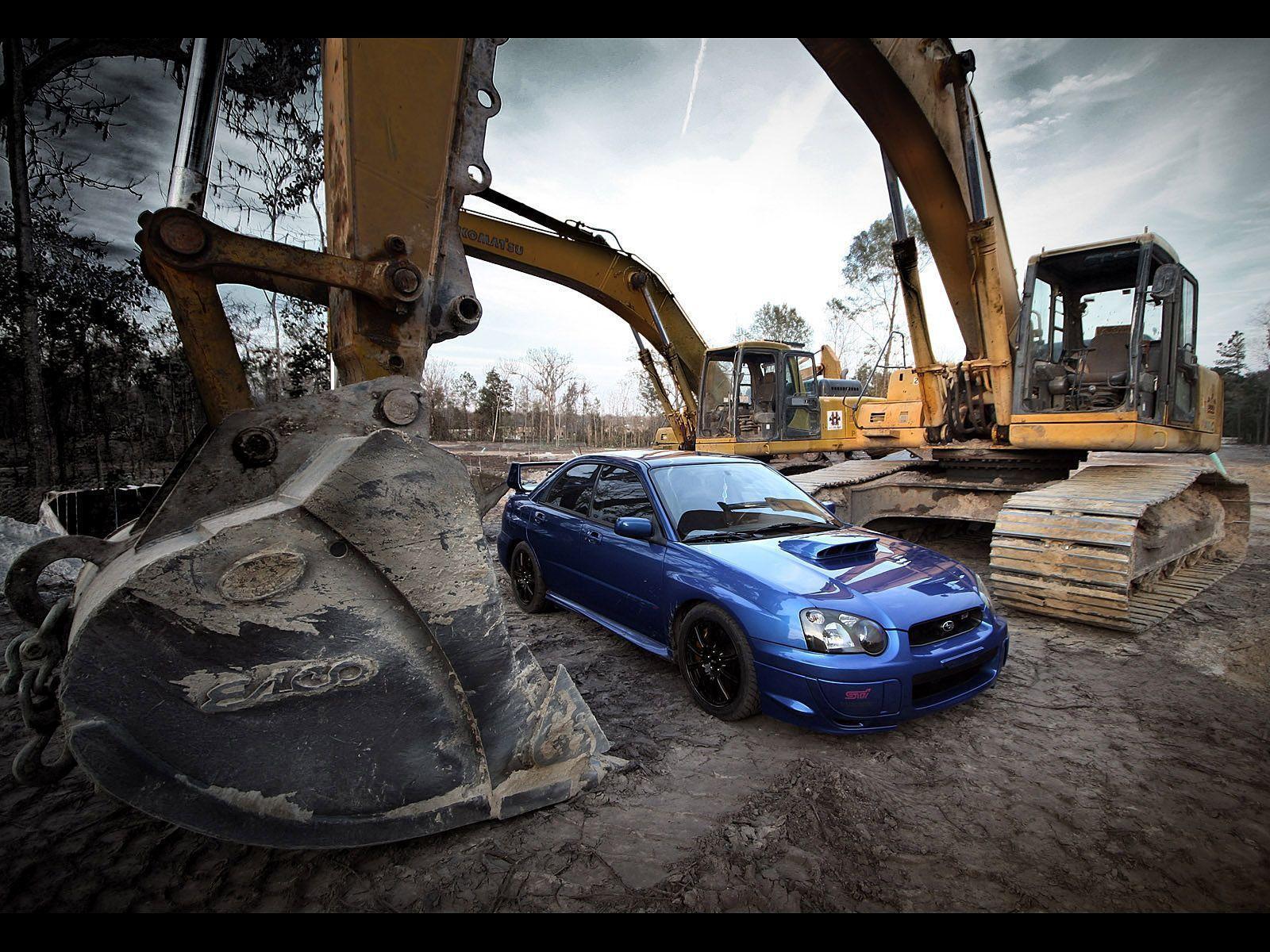 Subaru Sti Wallpapers Wallpaper Cave