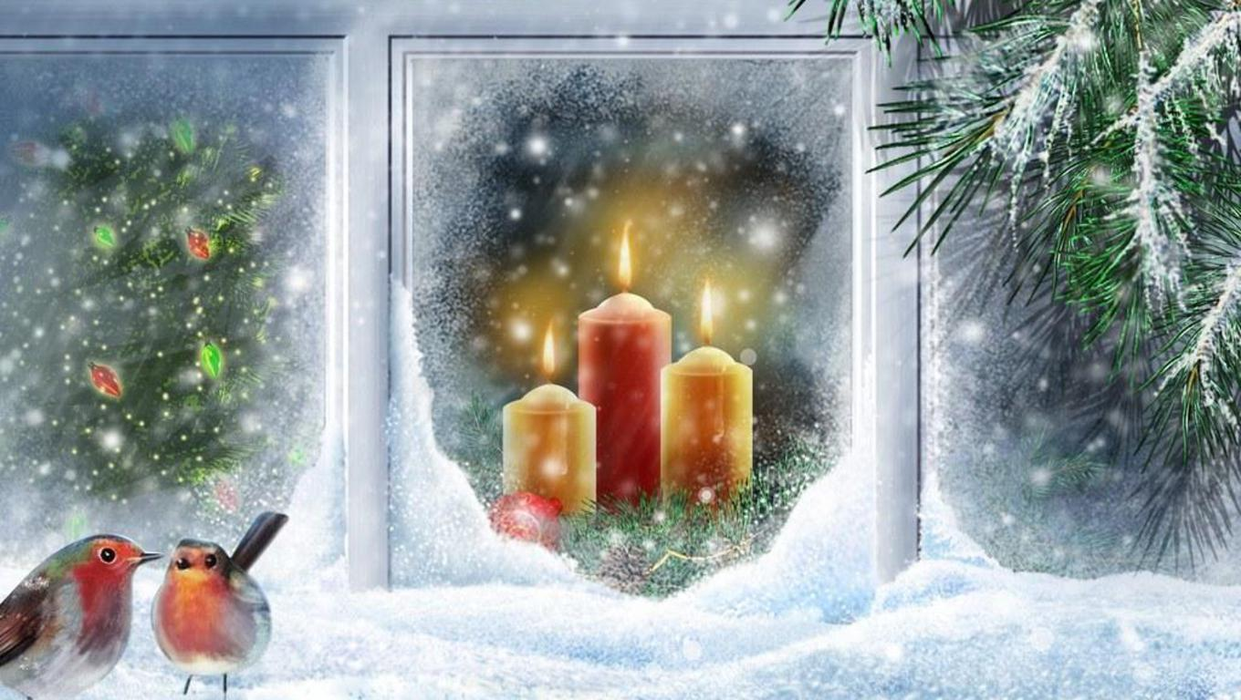 Christmas Scenes Wallpapers