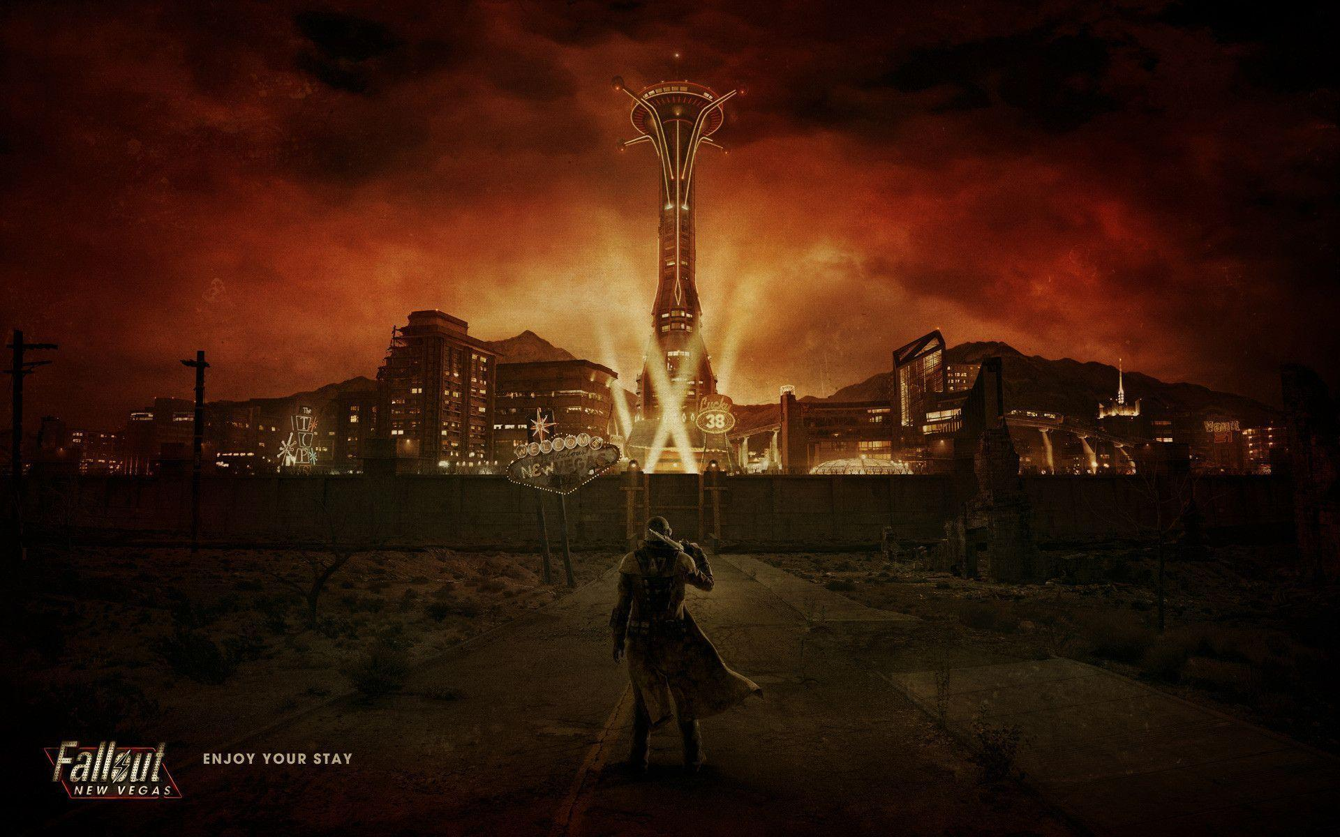 Fallout New Vegas Wallpapers Wallpaper Cave