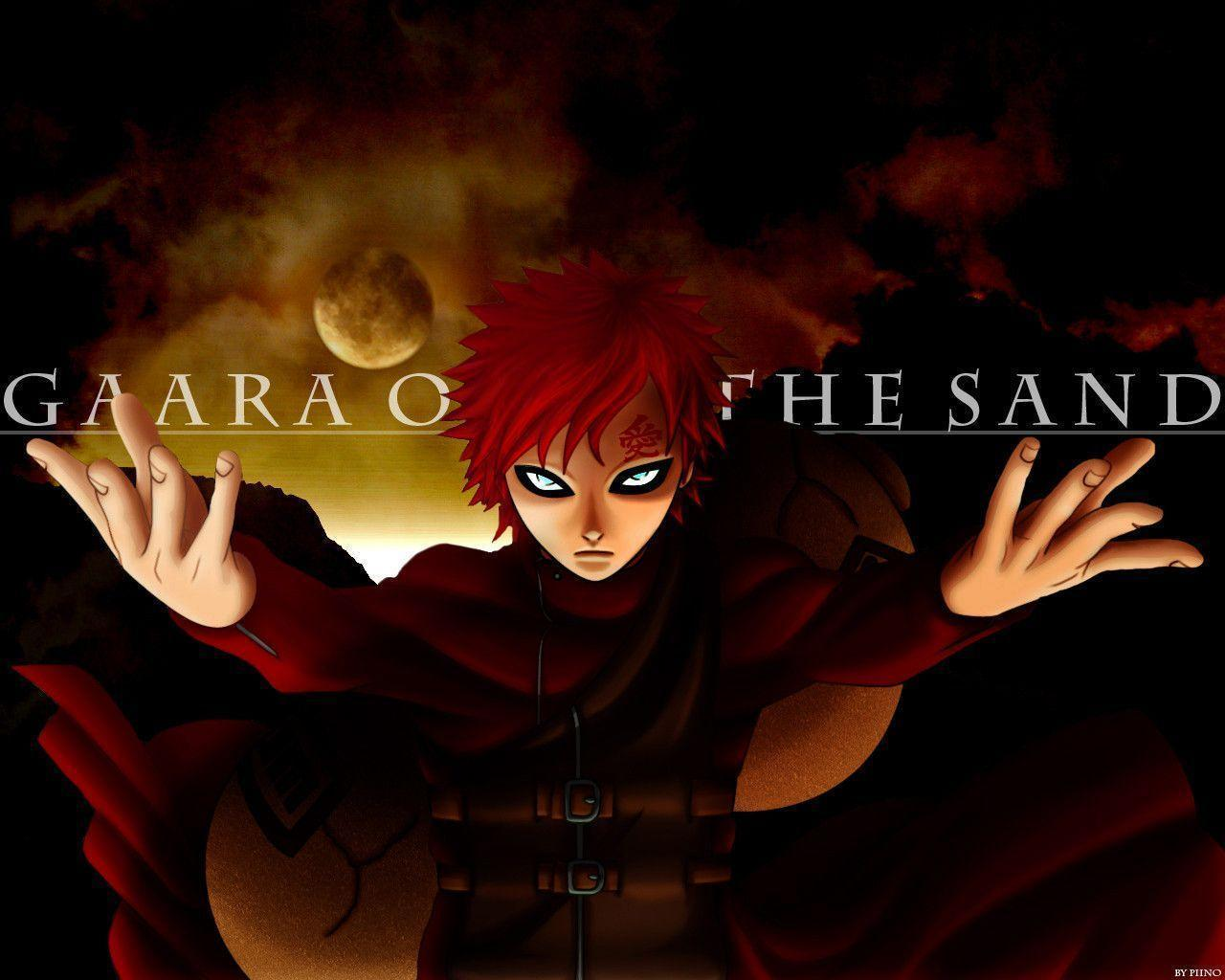 Naruto And Gaara Wallpapers - Wallpaper Cave