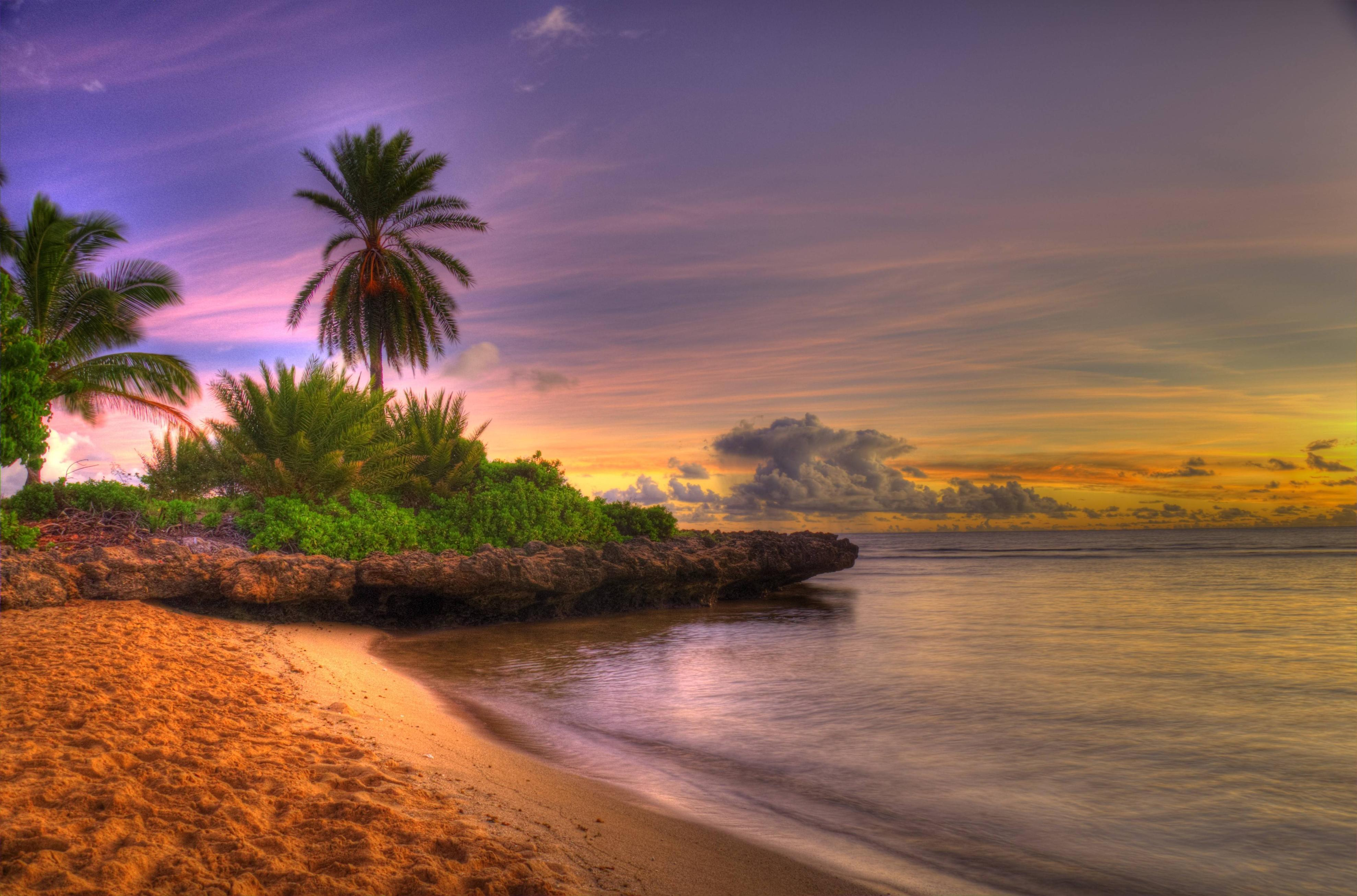 Android Beach Wallpapers Group 67: Sunset Beaches Wallpapers