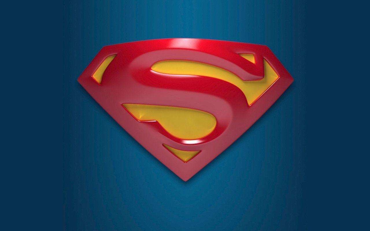 Superman Logo Background Computer HD Wallpaper Images IPhone