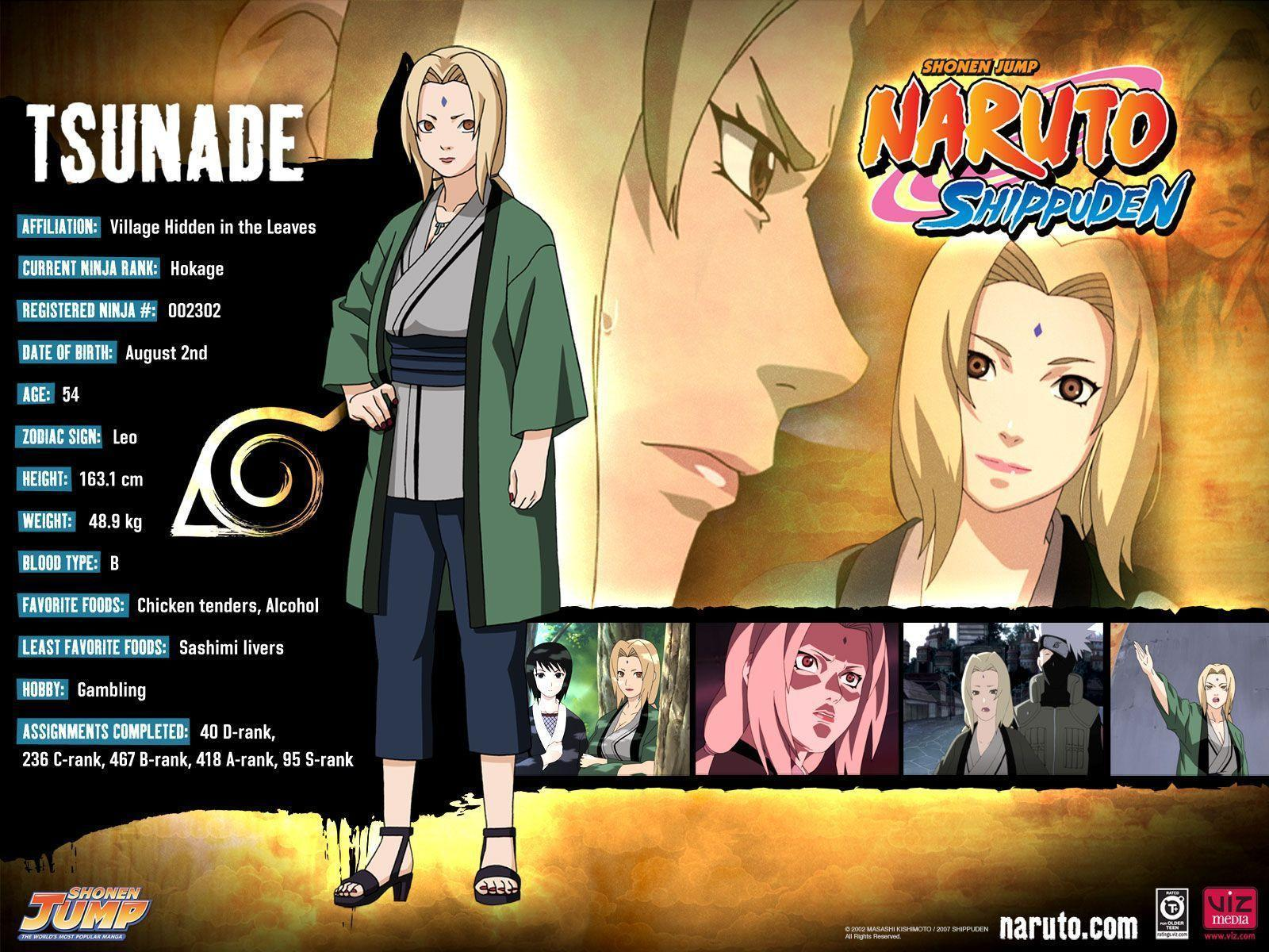 Lady Tsunade Wallpapers Wallpaper Cave