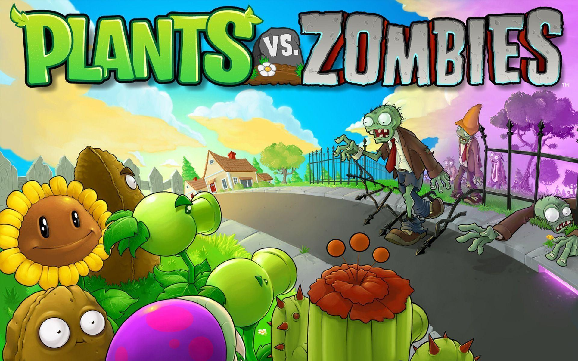 11 Plants Vs. Zombies Wallpapers | Plants Vs. Zombies Backgrounds