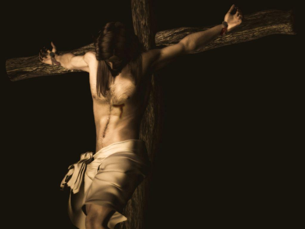 Jesus Crucified on Cross Free Stock Photo and Wallpapers