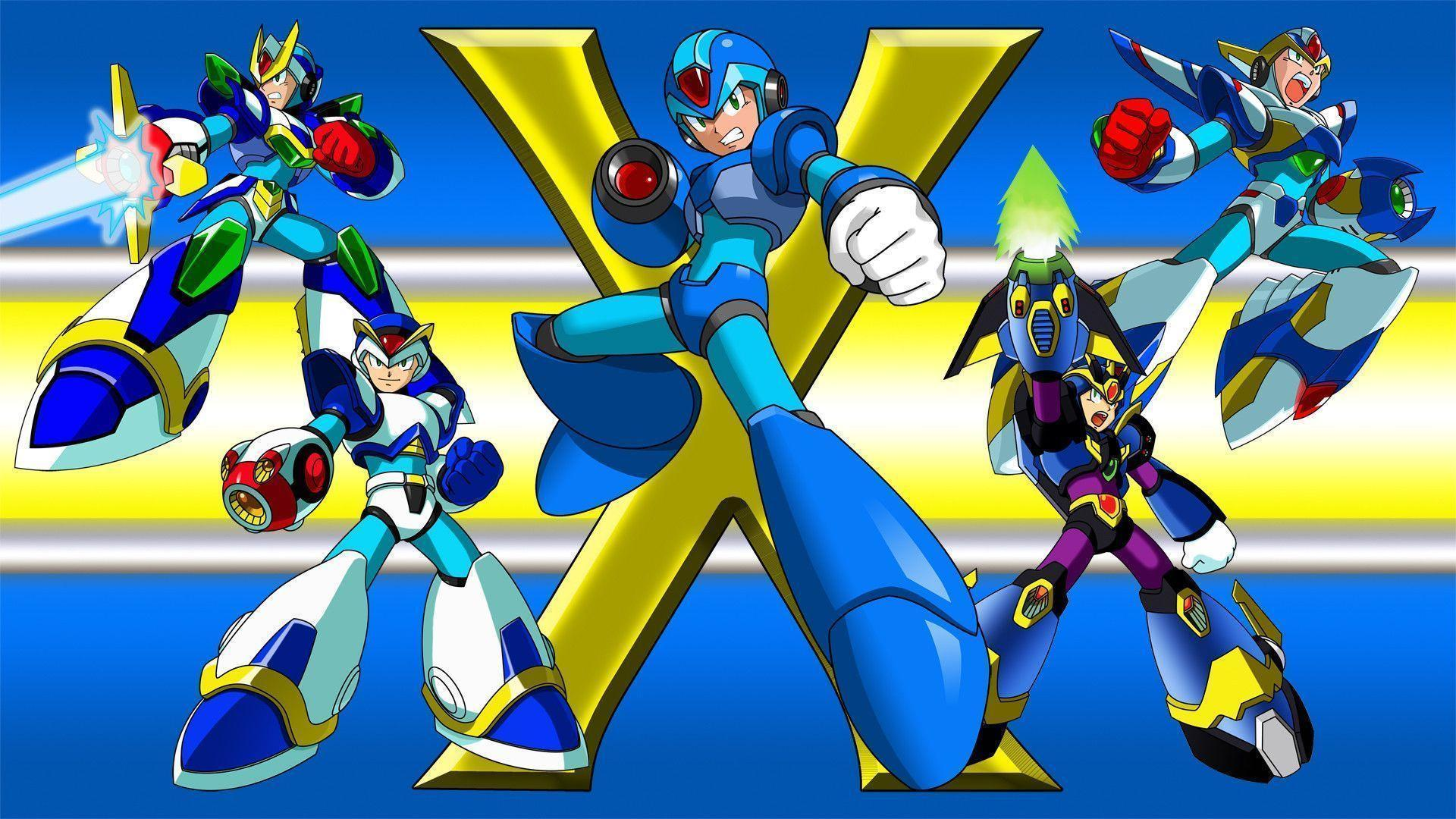 megaman wallpaper iphone