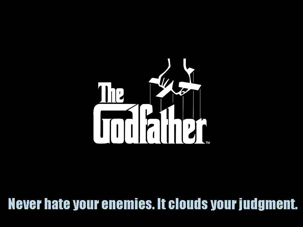 Wallpapers For > The Godfather Quotes Wallpaper