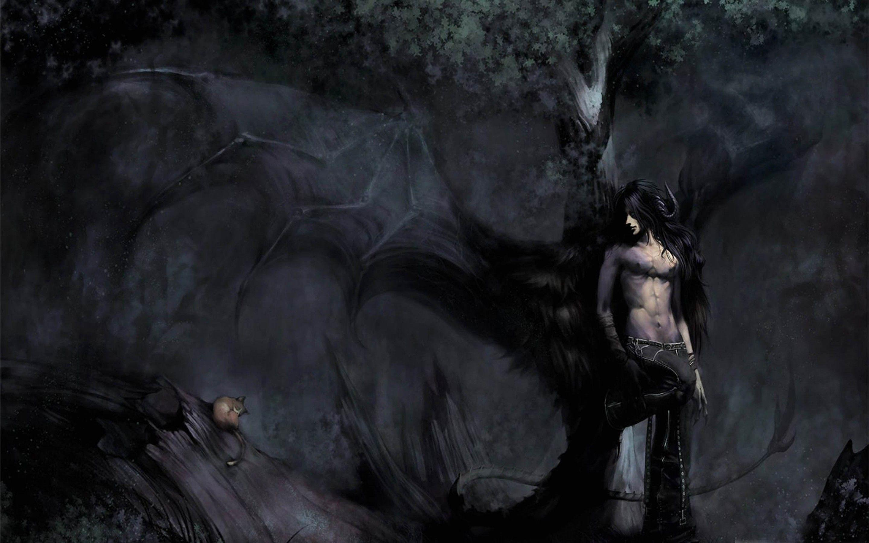 Gothic anime wallpapers wallpaper cave - Most beautiful dark wallpapers ...
