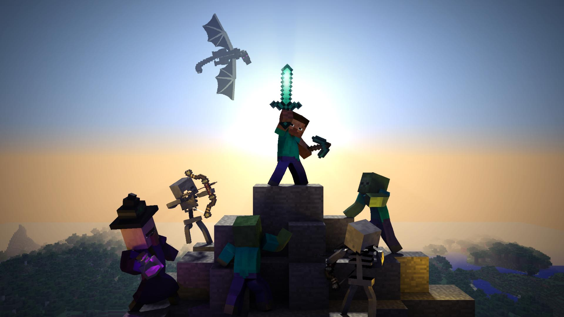 Best Wallpaper Minecraft Desktop - ILBEFcG  Collection_6911100.jpg