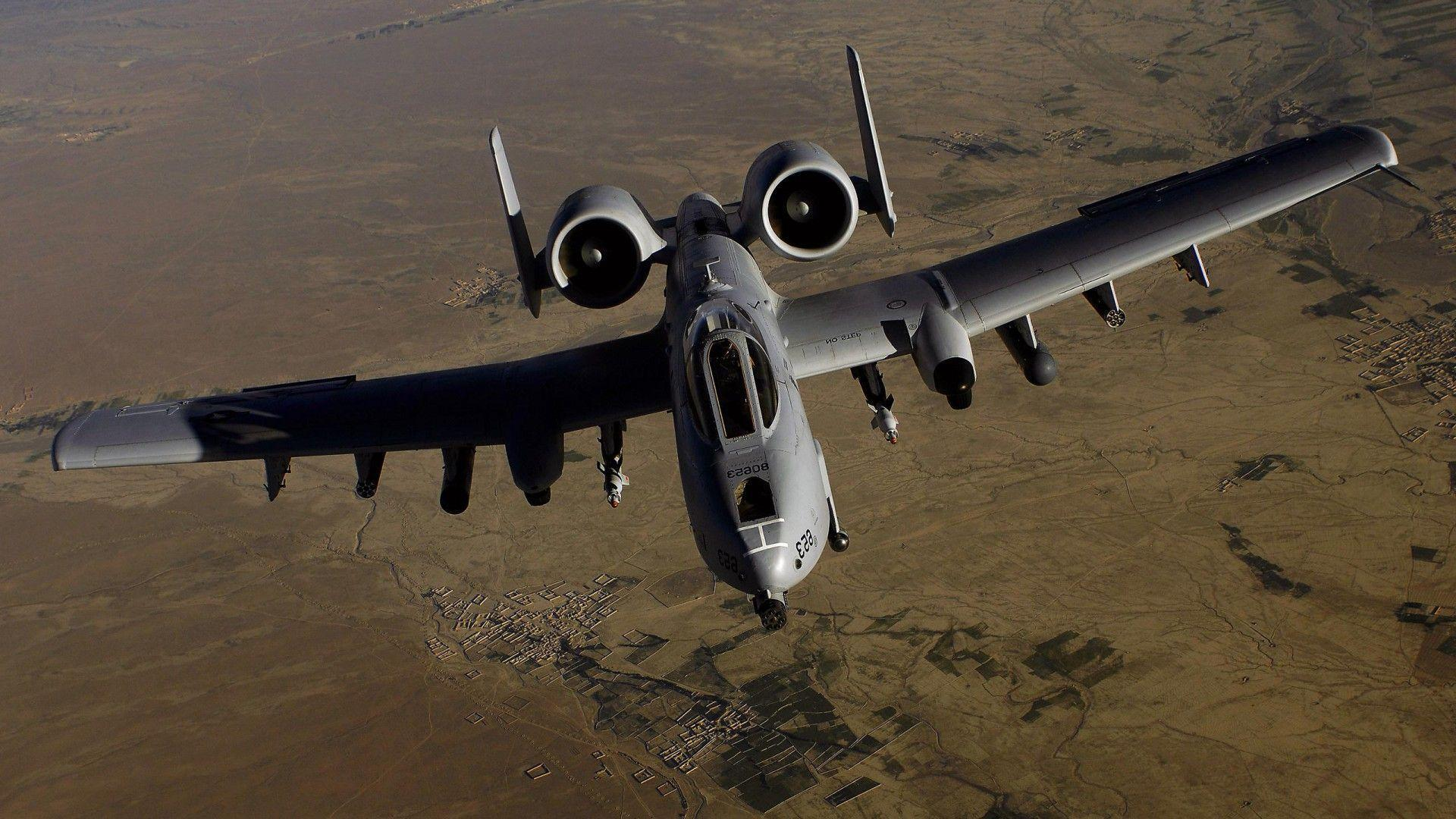Wallpaper A 10 Thunderbolt Ii Ground Attack Aircraft