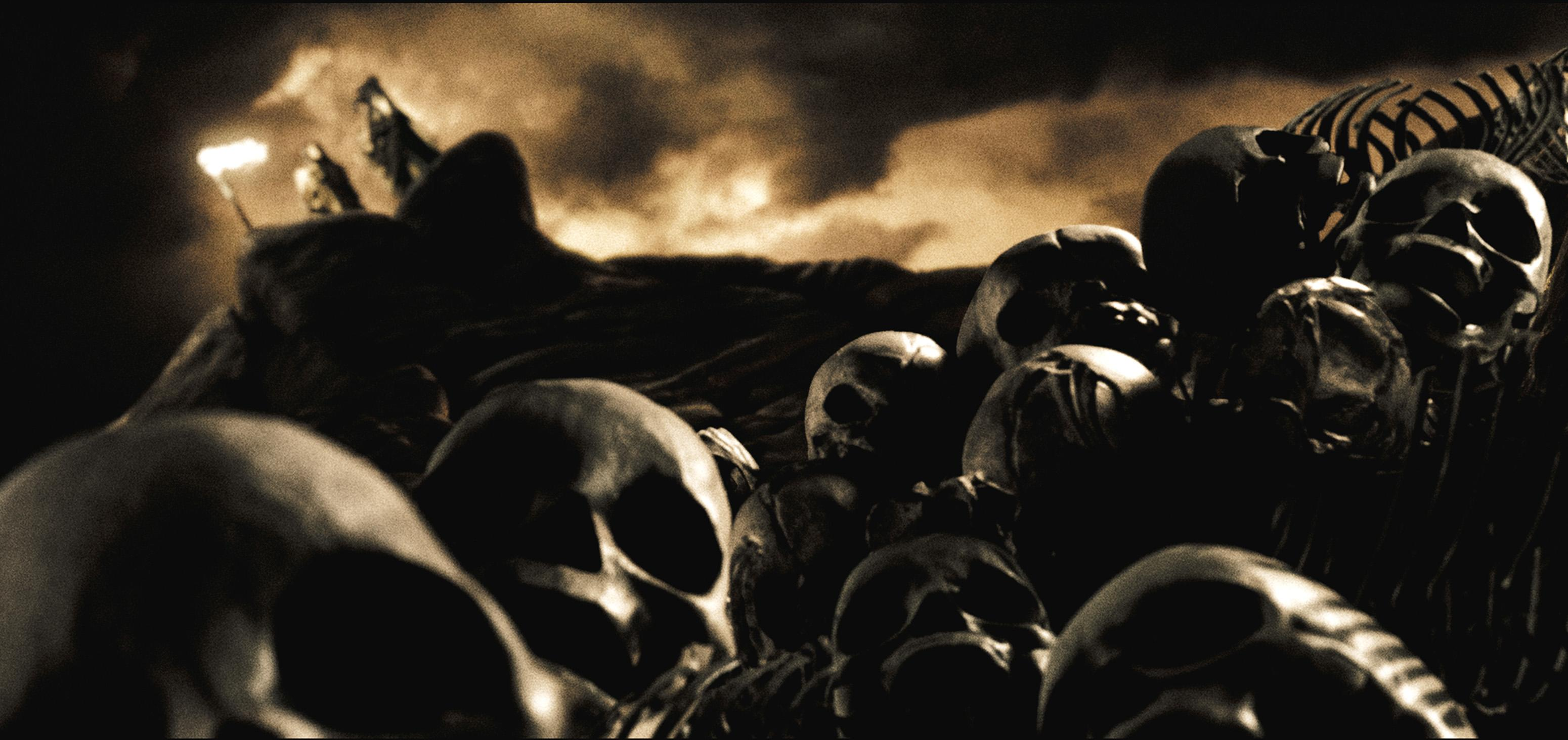 300 The Spartan Baby Inspector (xxl) Skull wallpaper #