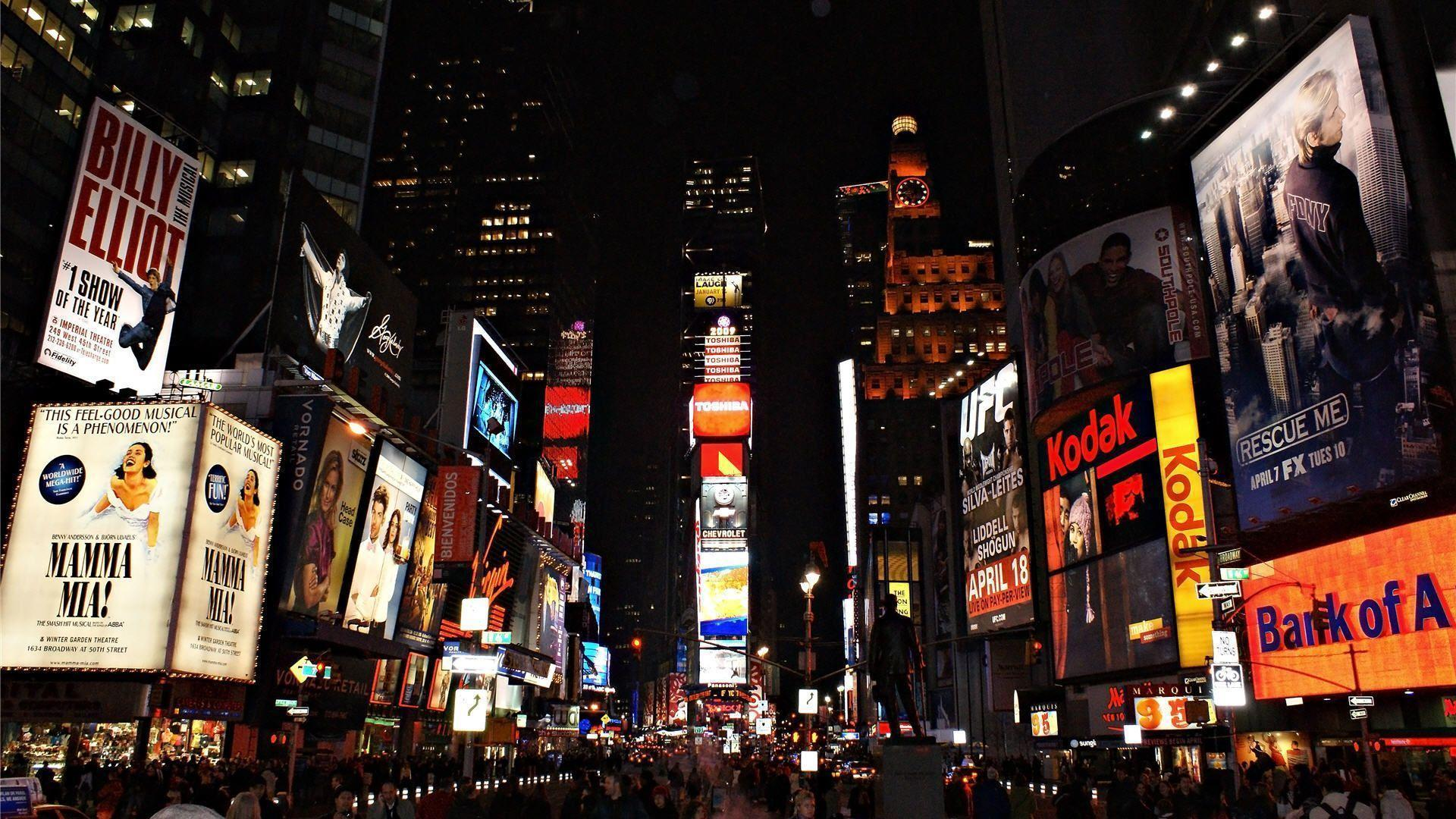 Times Square Wallpapers Hd Wallpapers