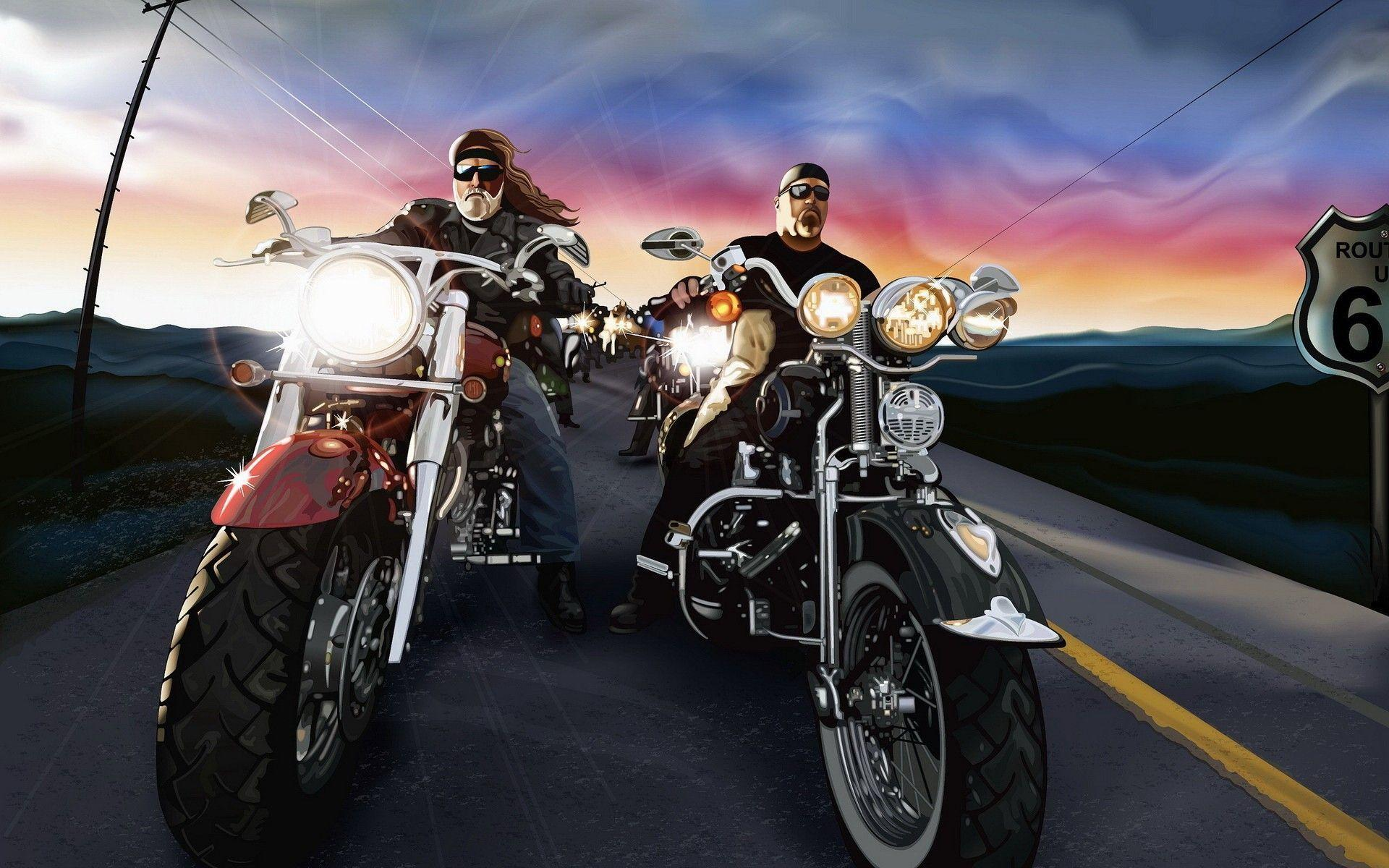 biker wallpaper - photo #1