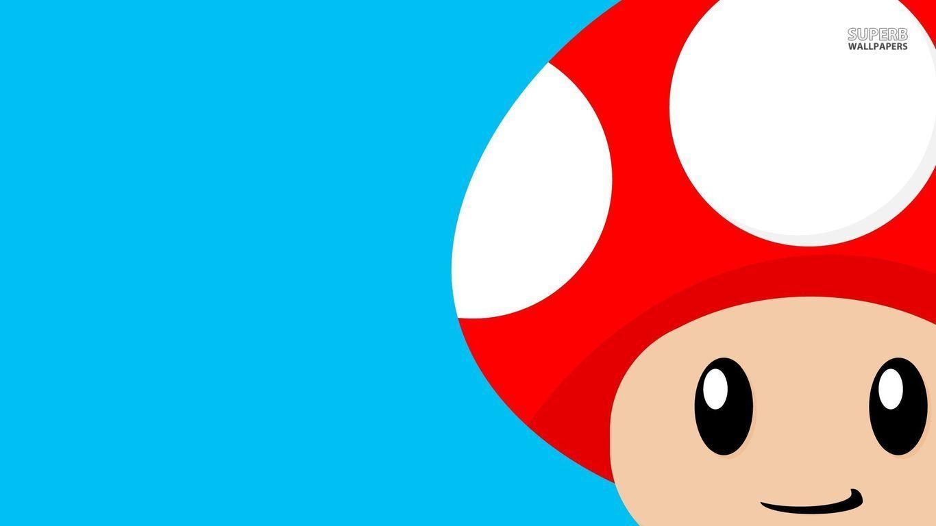 Mario Mushrooms Wallpapers Wallpaper Cave