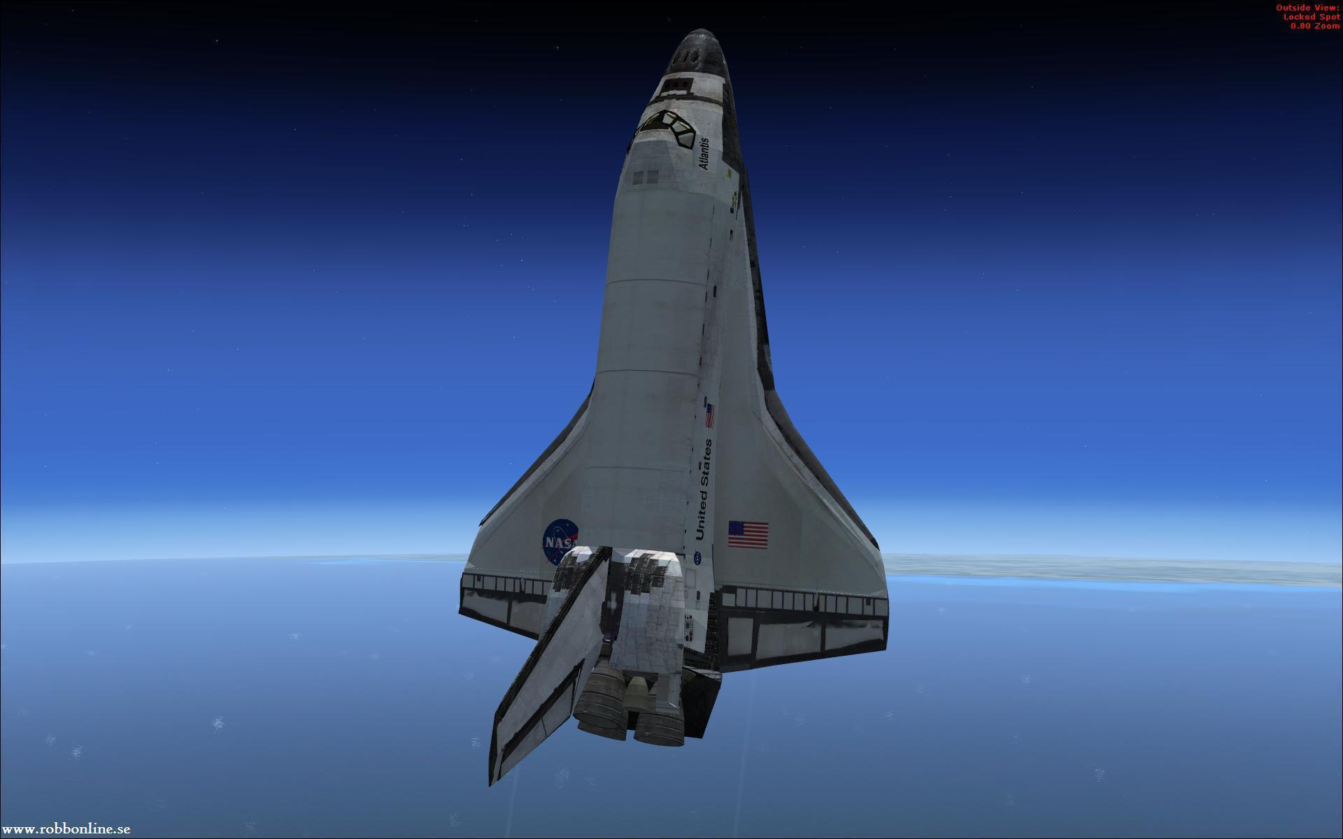 hd space shuttle in space - photo #8