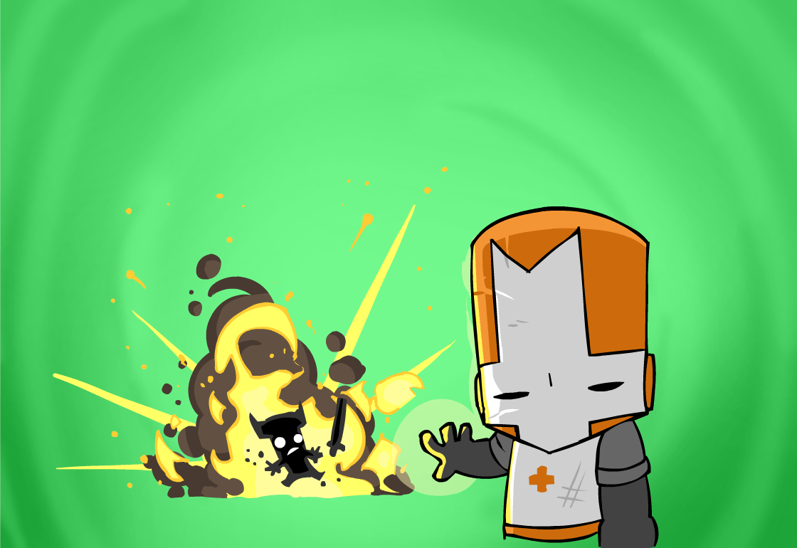 castle crashers android wallpaper