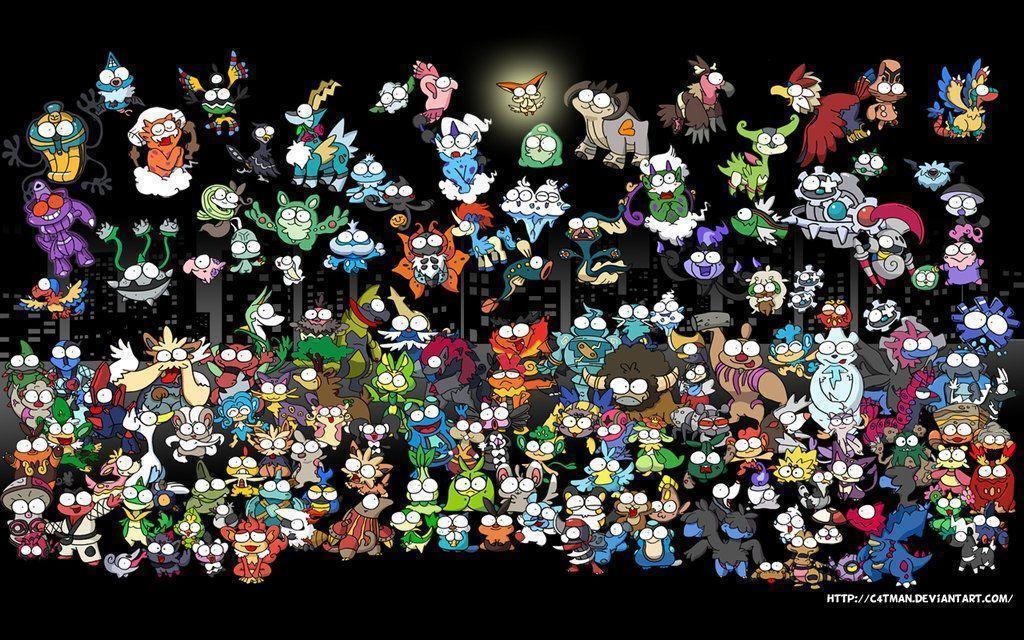 awesome pokemon backgrounds - photo #42