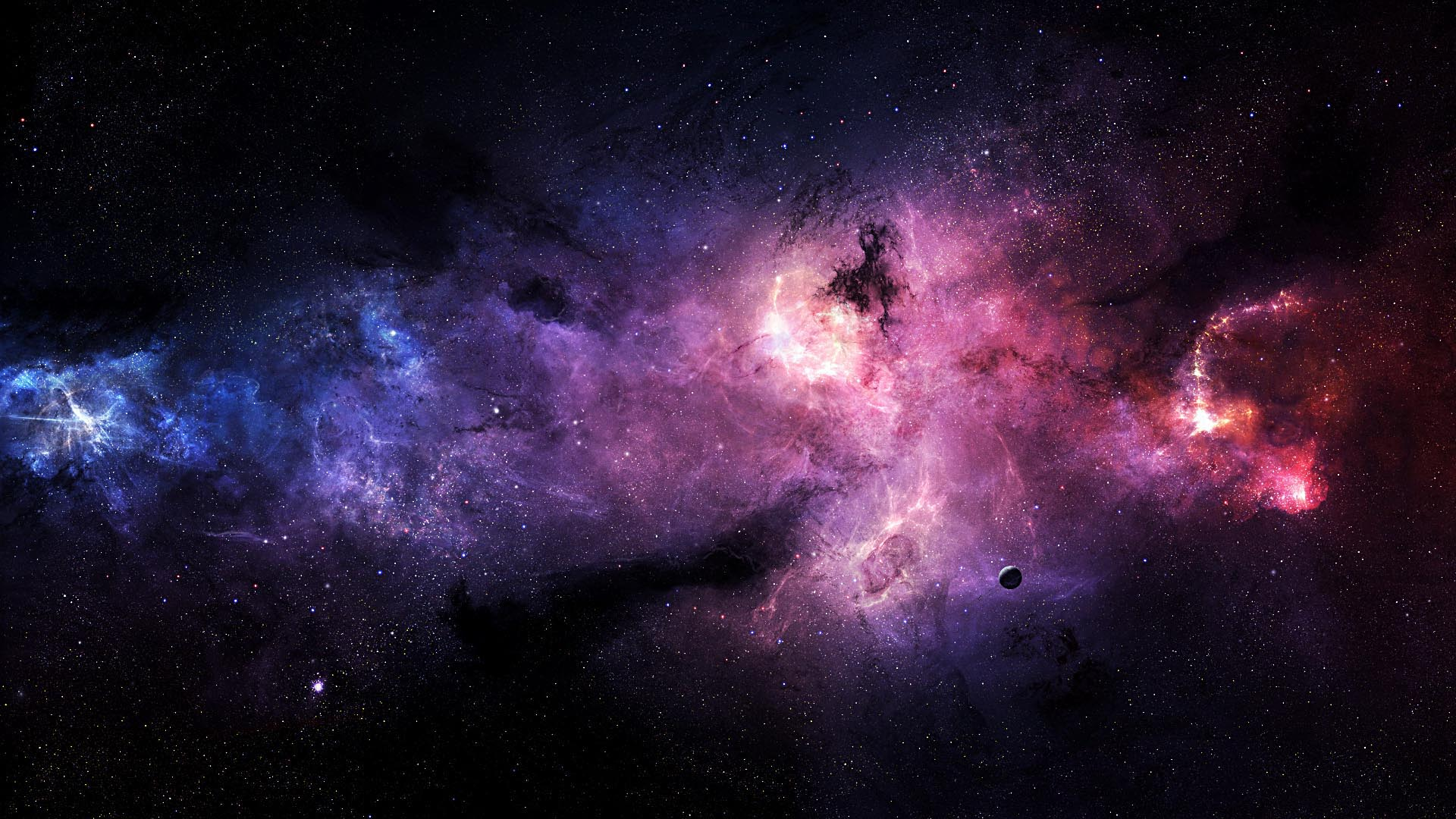 Wallpapers For Blue And Purple Galaxy Wallpaper