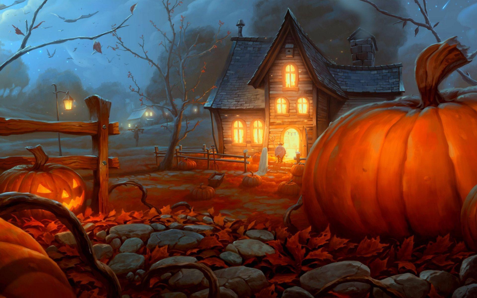 Halloween Wallpapers For Desktop - Wallpaper Cave