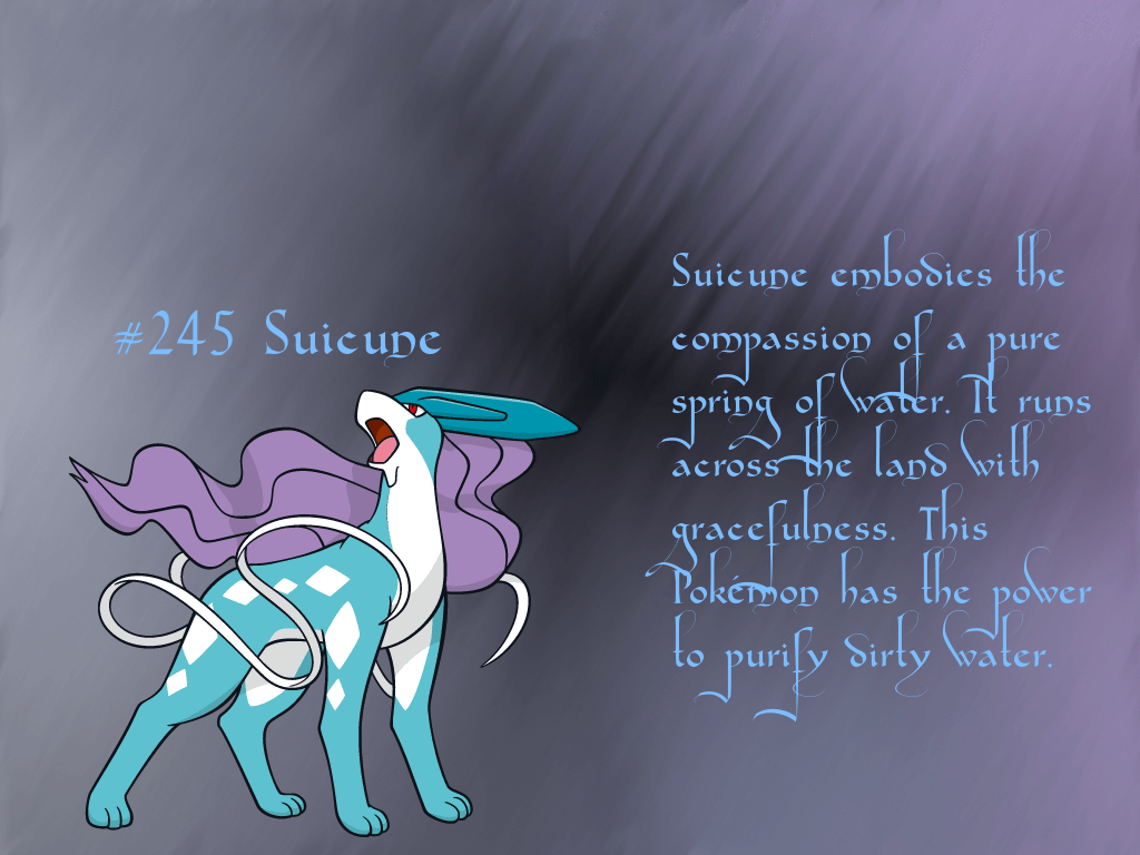 suicune pokemon hd wallpapers - photo #13