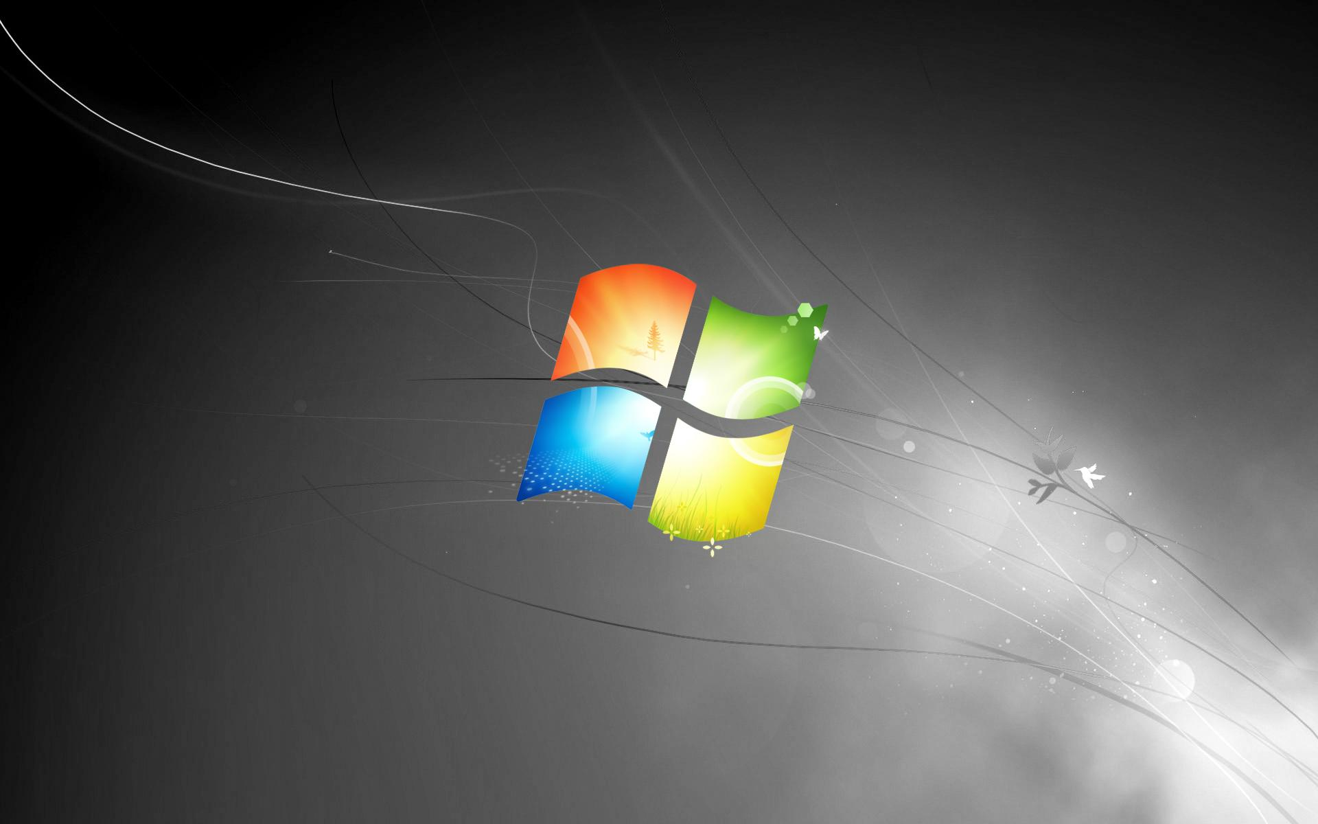 Windows 7 Black Backgrounds - Wallpaper Cave