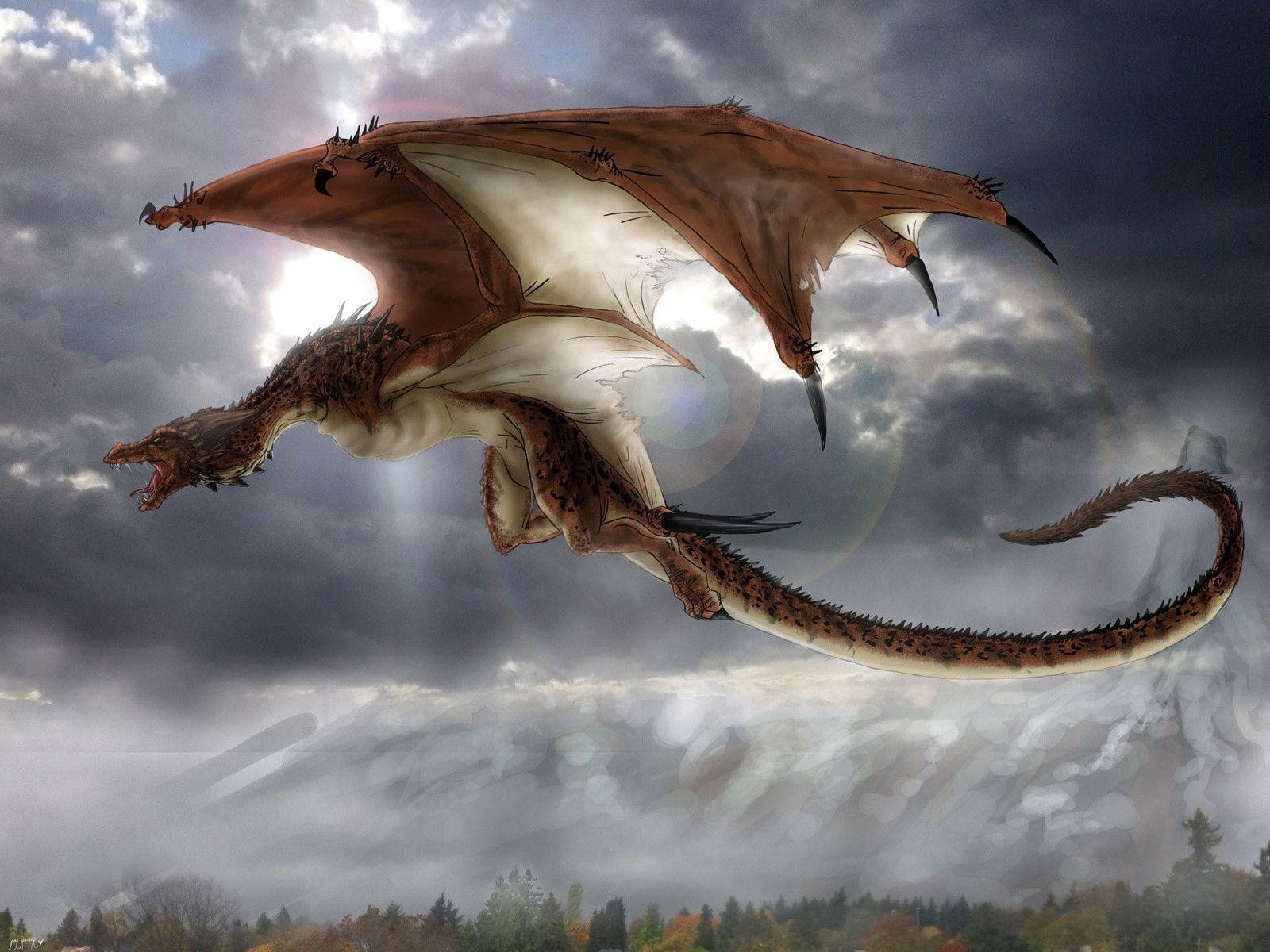 Mythological Dragons: Mythical Creatures Wallpapers