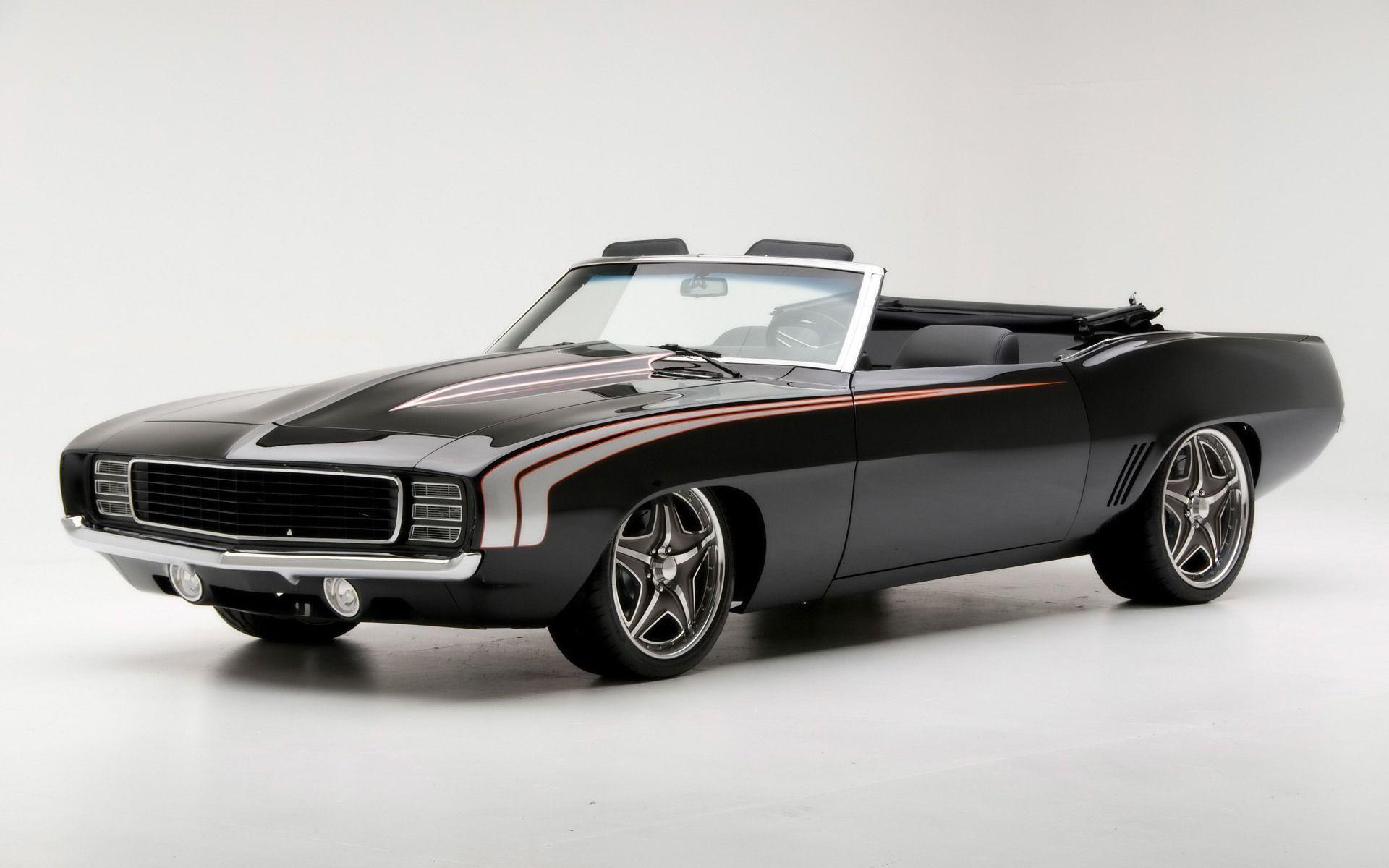 Black Muscle Car Wallpapers 9758 Full HD Wallpaper Desktop - Res ...