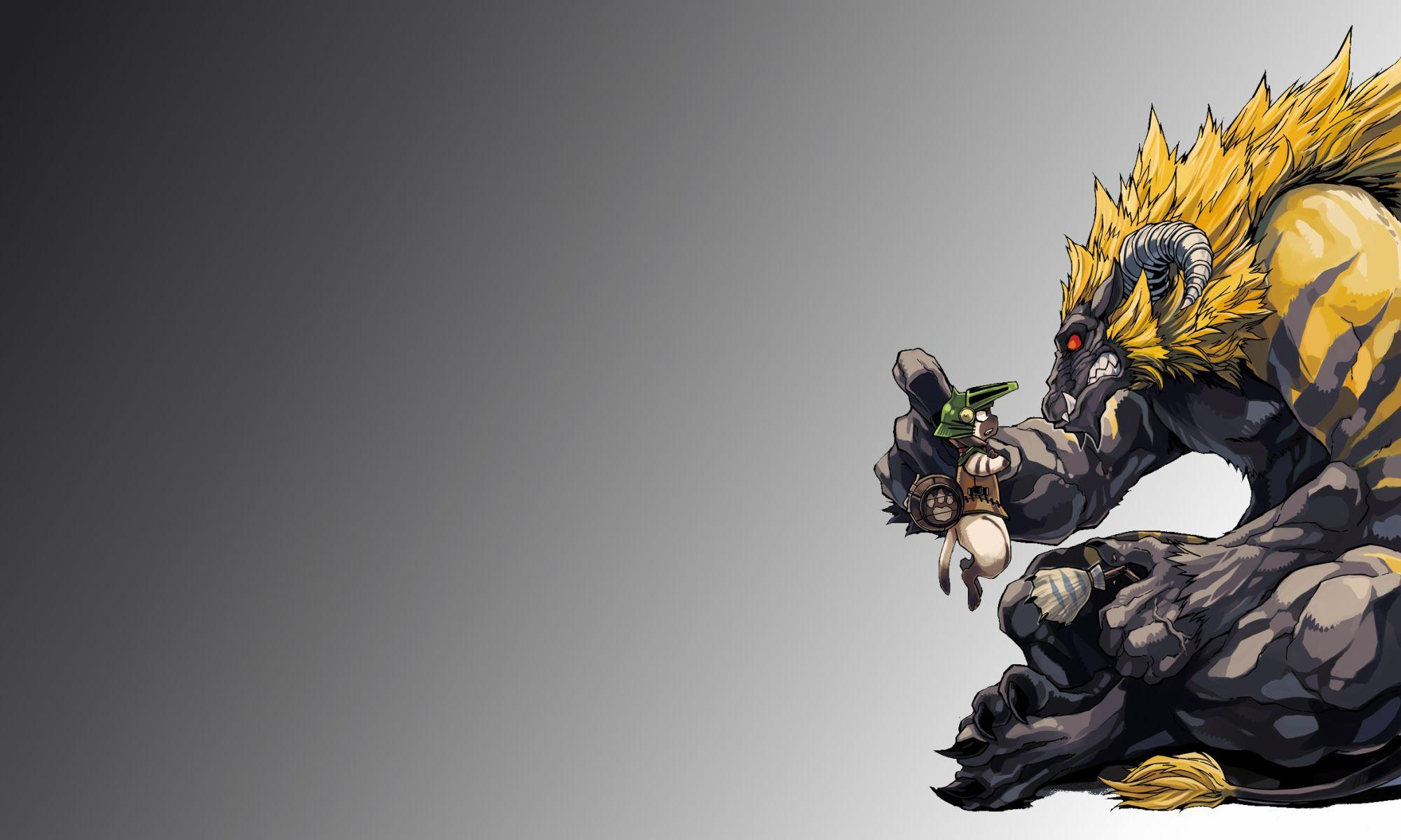 Download Monster Hunter Wallpaper 2000x1200