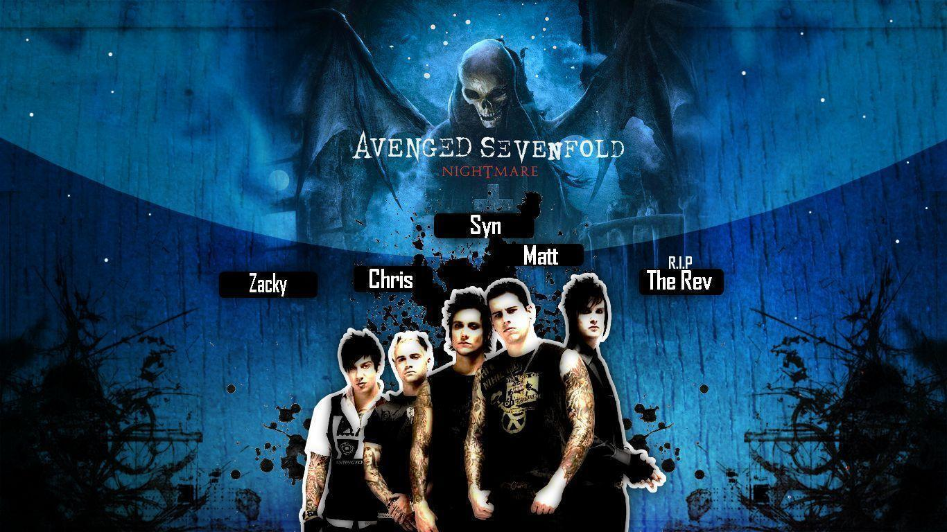 Avenged Sevenfold Wallpapers Hd Wallpaper Cave