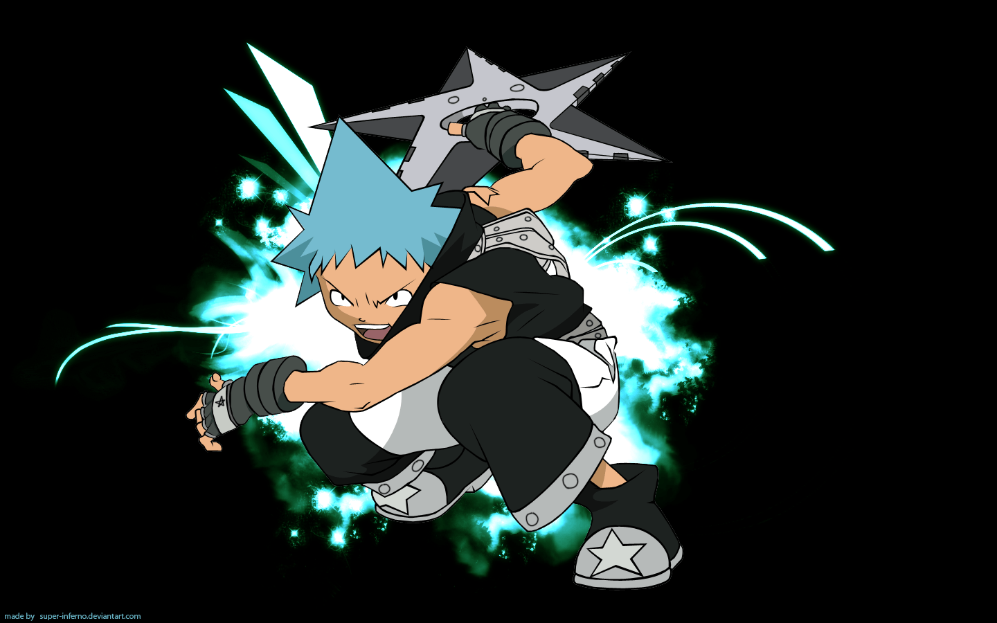 Soul Eater Black Star Wallpapers Wallpaper Cave
