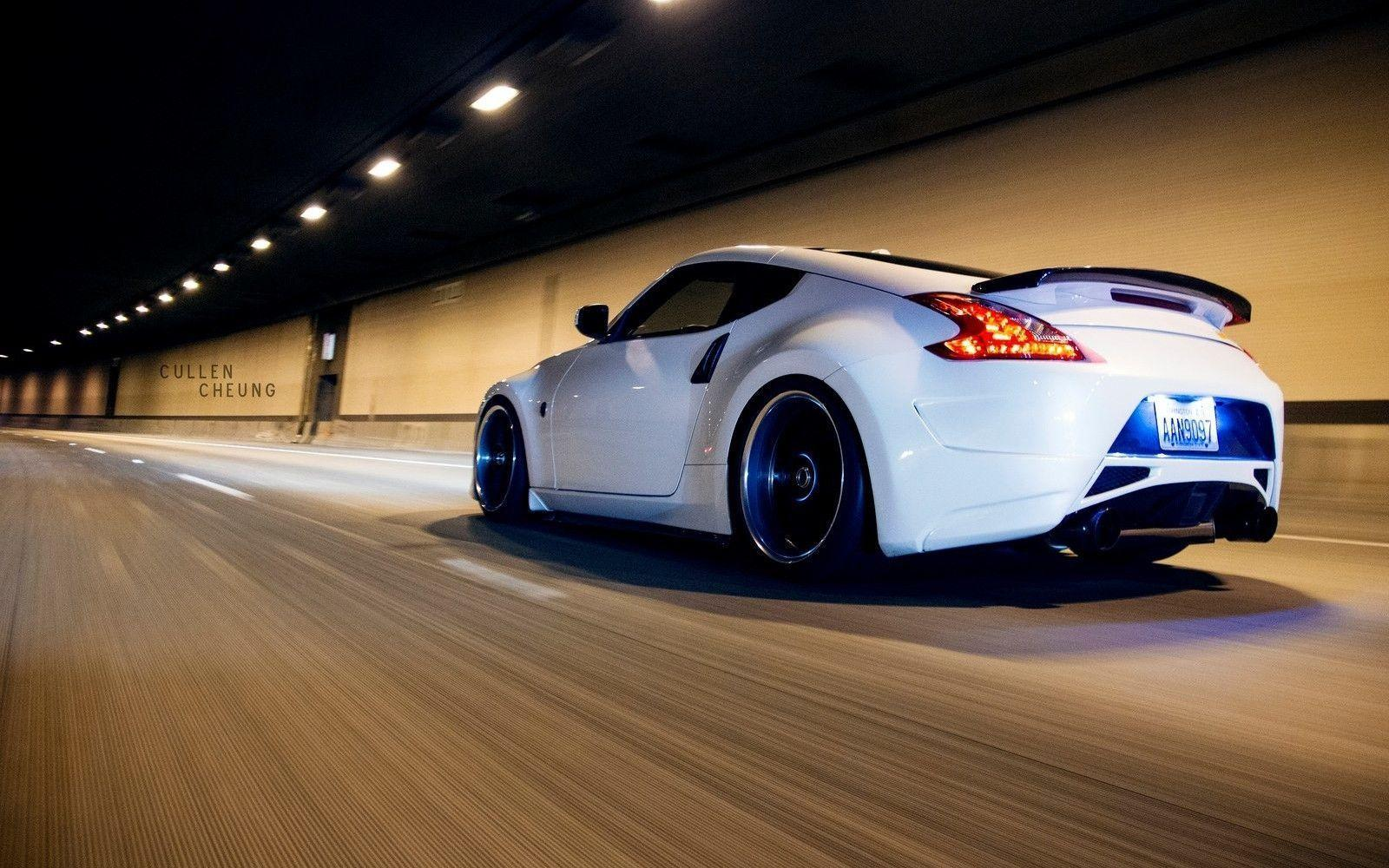 nissan 370z drift wallpaper