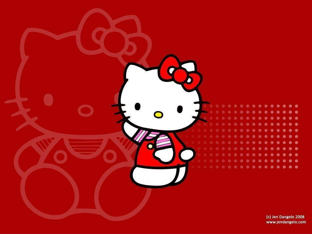 hello kitty wallpaper red hd -#main