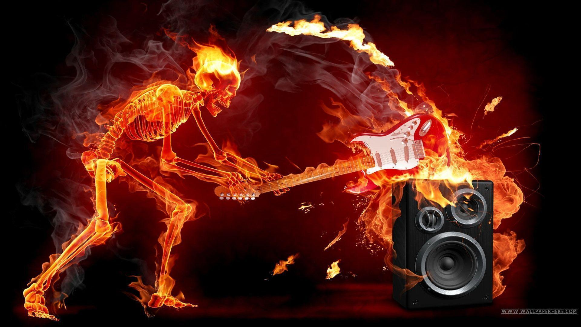 Fire Skull The Fire Of Artistic Creativity Design Wallpapers X