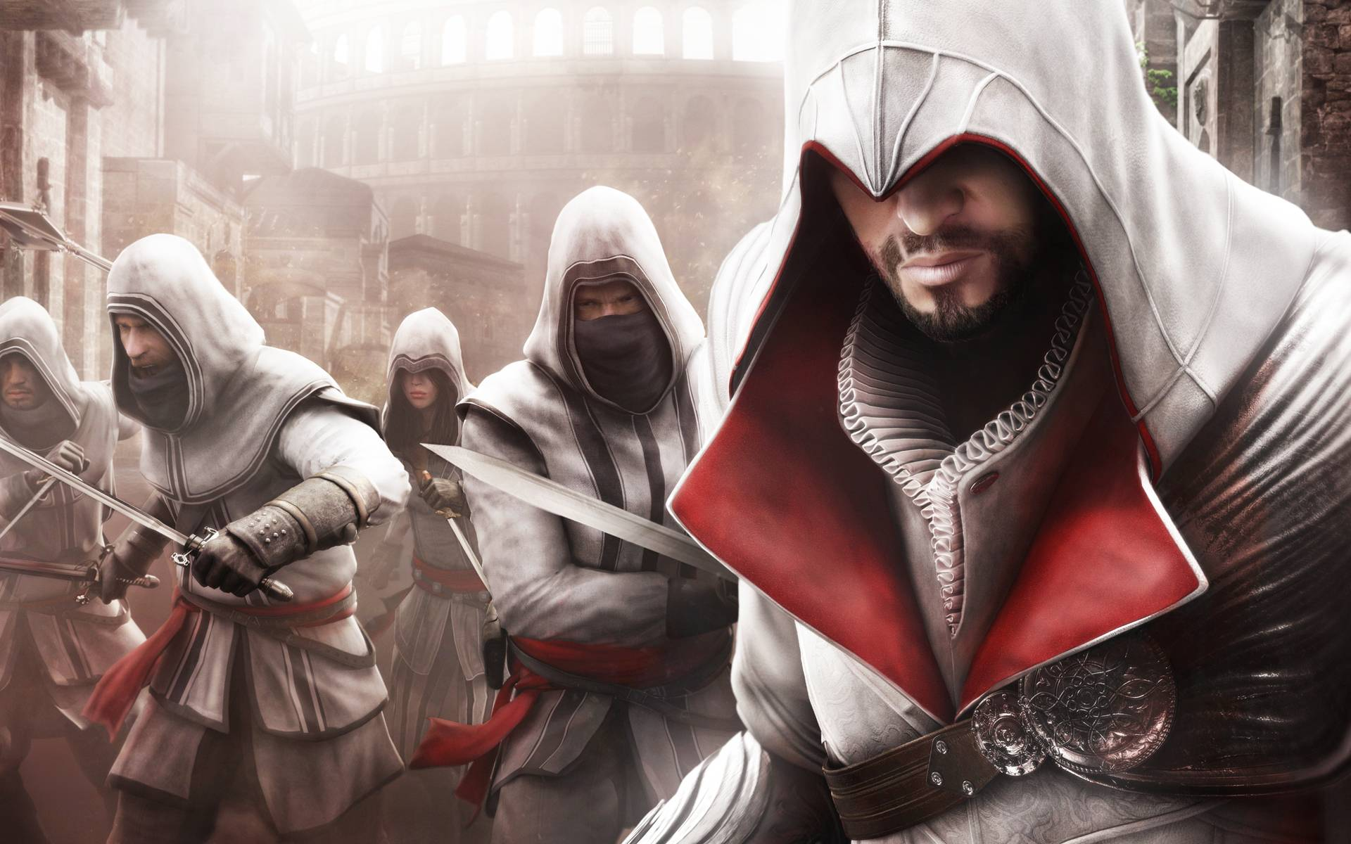 Assassins Creed Brotherhood Wallpaper: Ezio Wallpapers