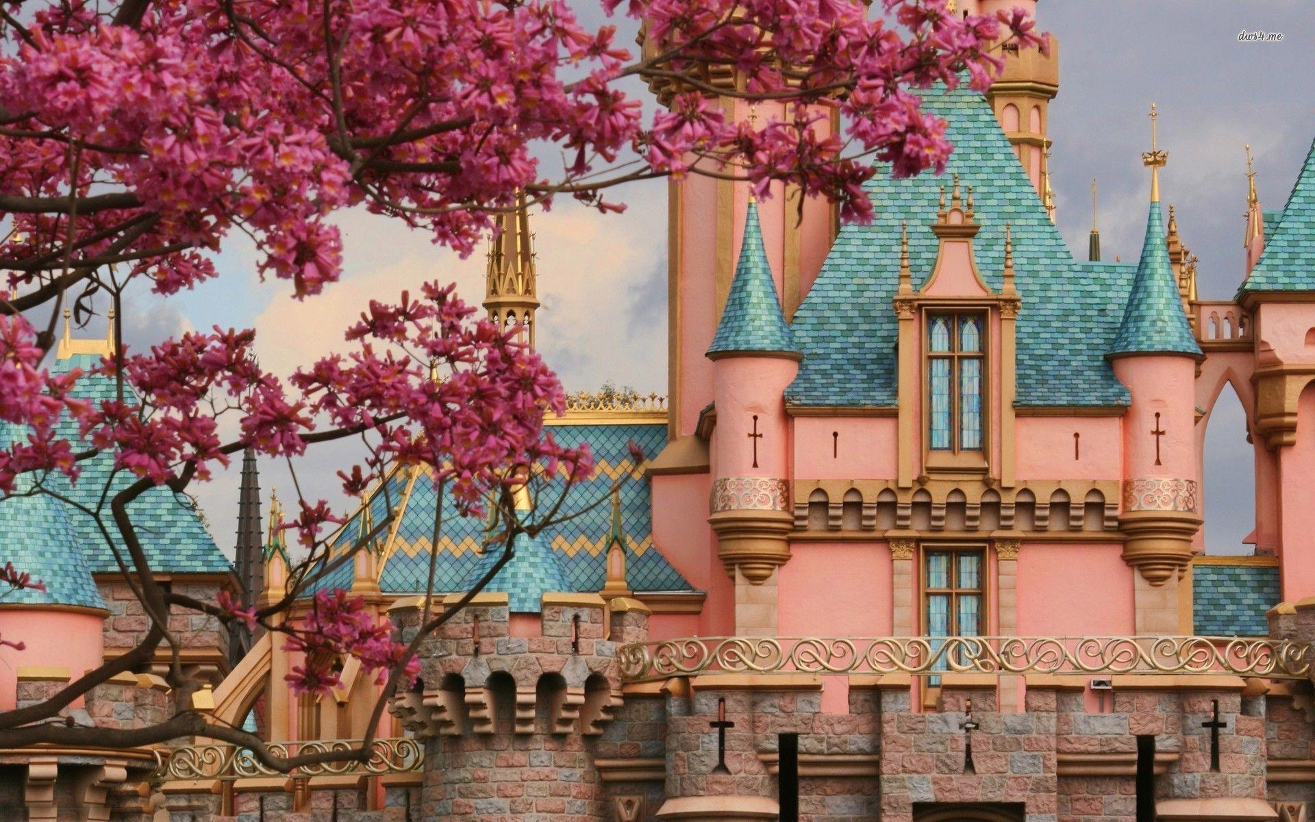 Sleeping Beauty Castle wallpapers