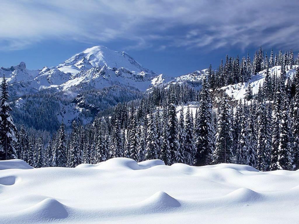 Wallpapers For > Snow Mountain Wallpapers Widescreen