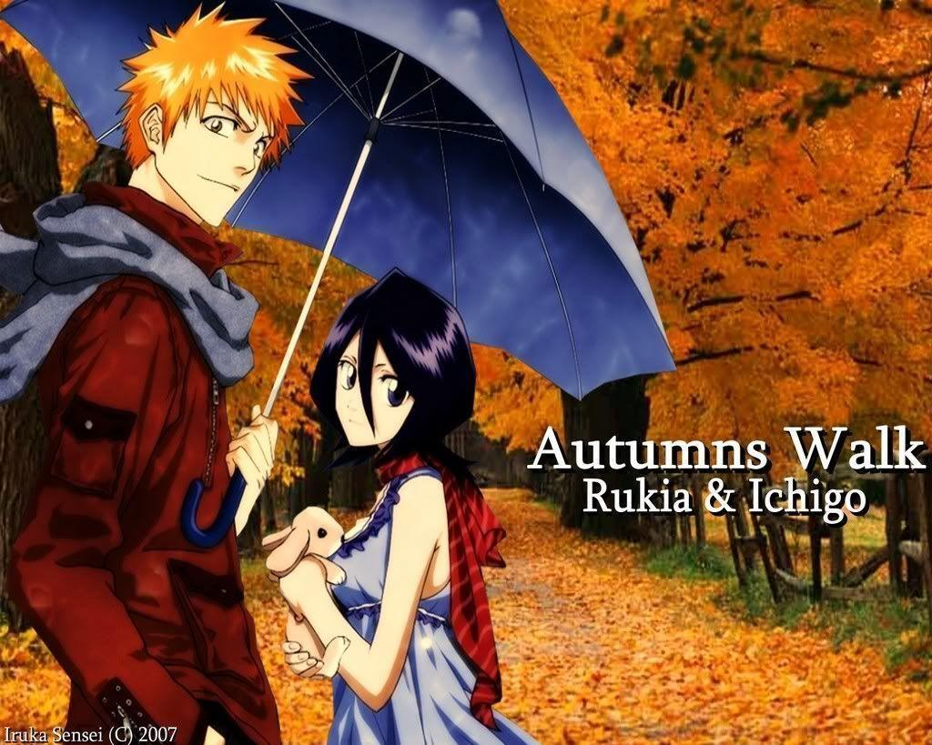 ichigo rukia wallpapers wallpaper cave