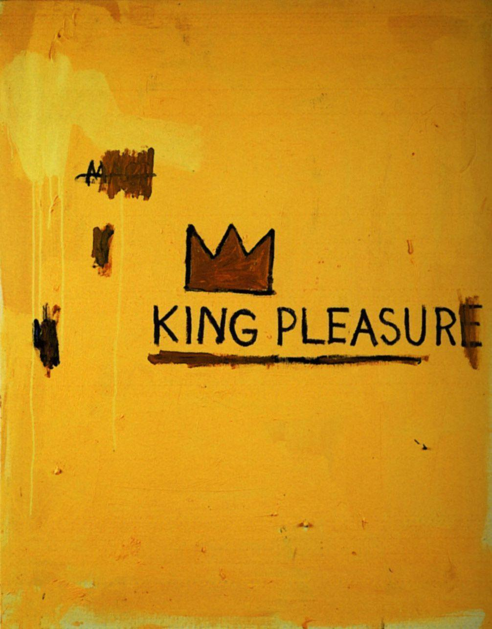 King Pleasure - Jean-Michel Basquiat - WikiArt.