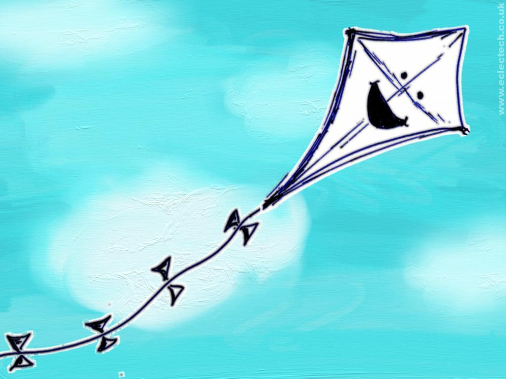 wallpaper kite cartoon - photo #4