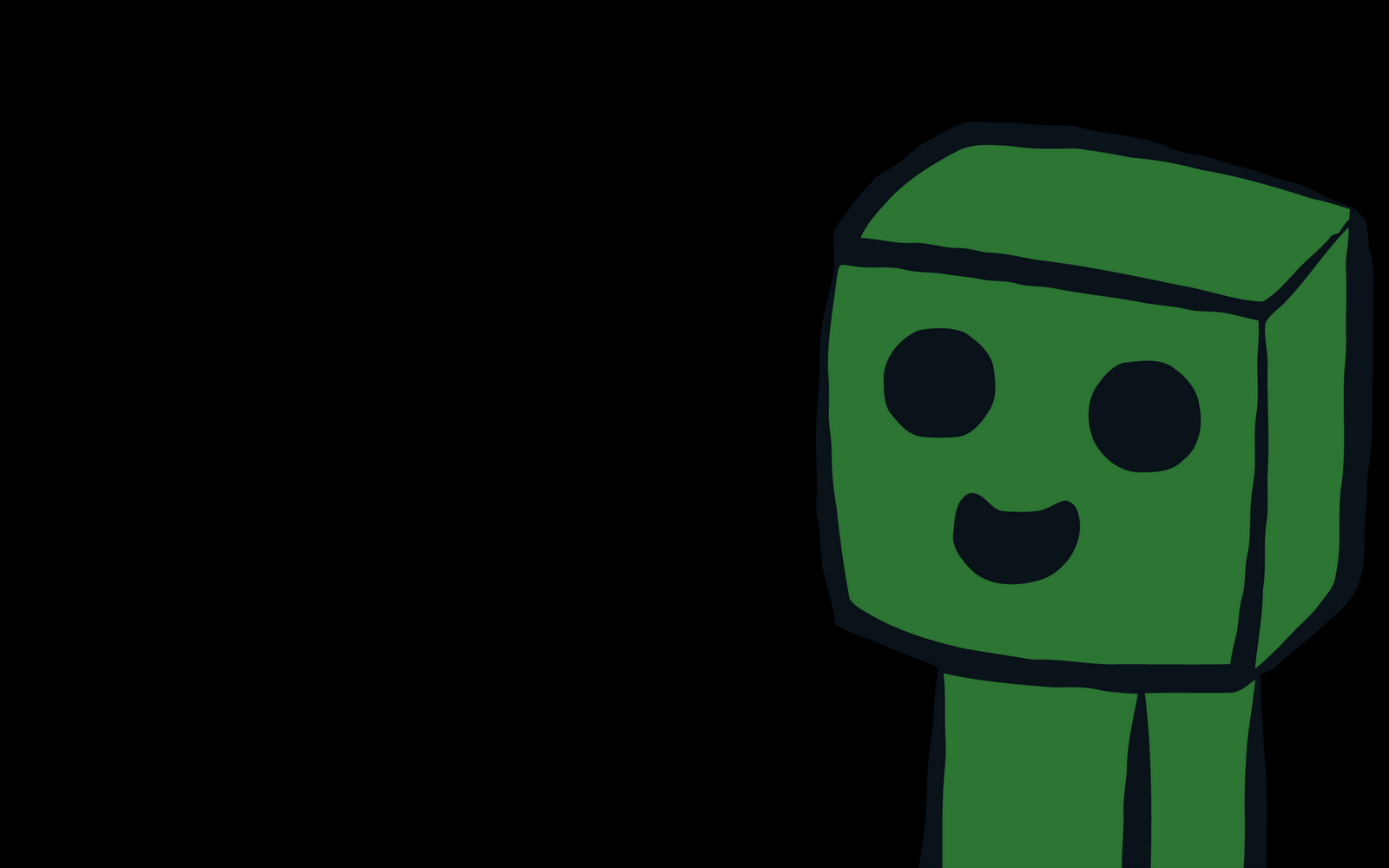 Minecraft Img For > Minecraft Creeper Computer Backgrounds
