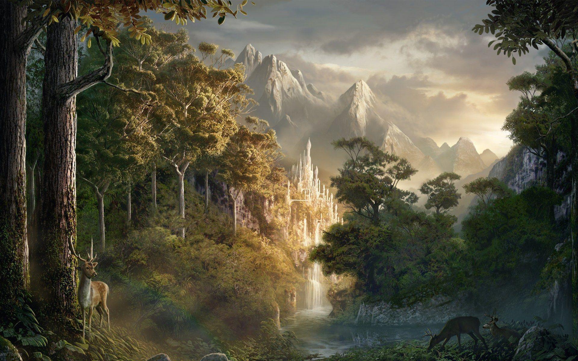 Fantasy Art Backgrounds - Wallpaper Cave