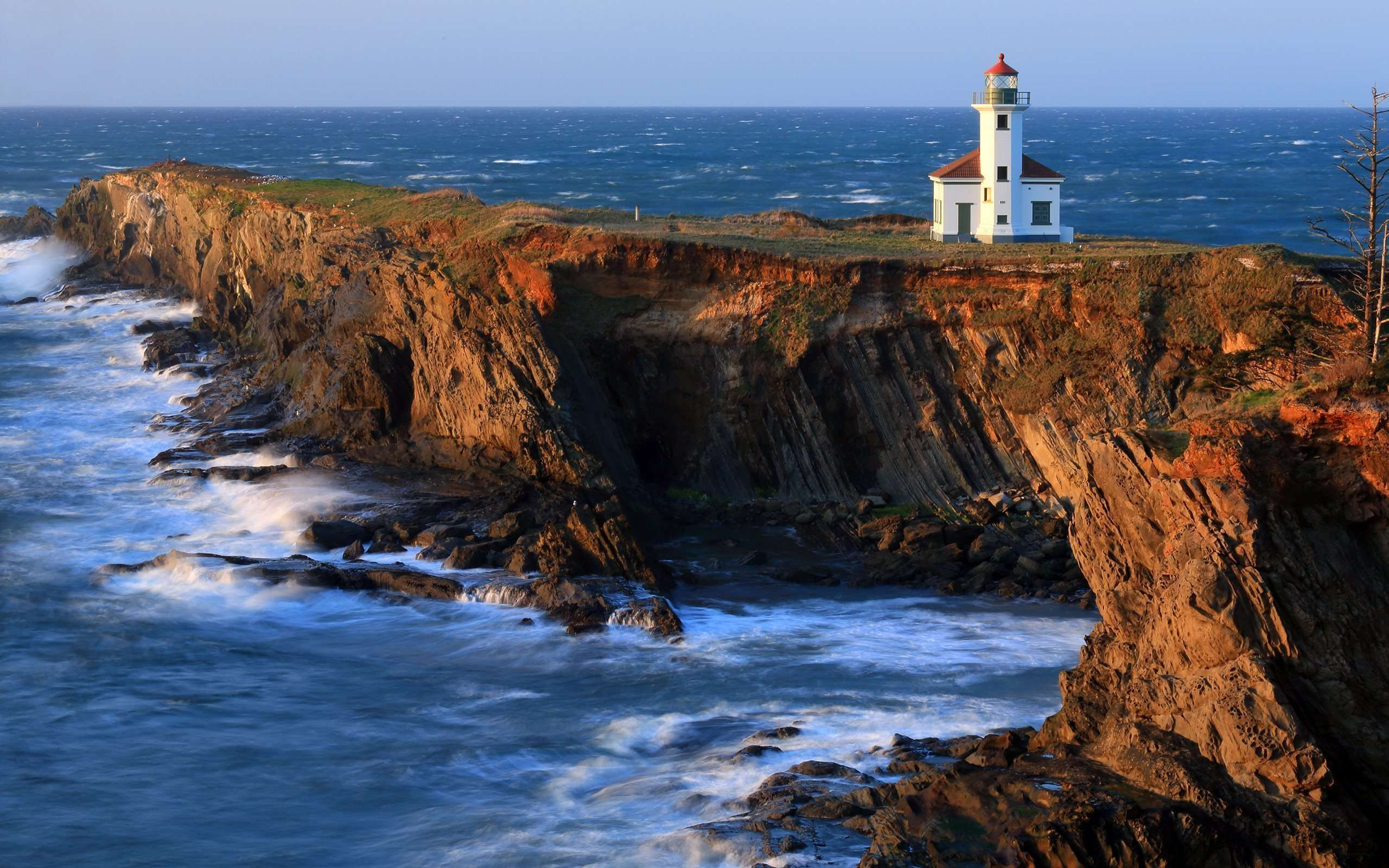 Cape Arago Lighthouse Wallpaper - Widescreen Wallpaper | HD ...