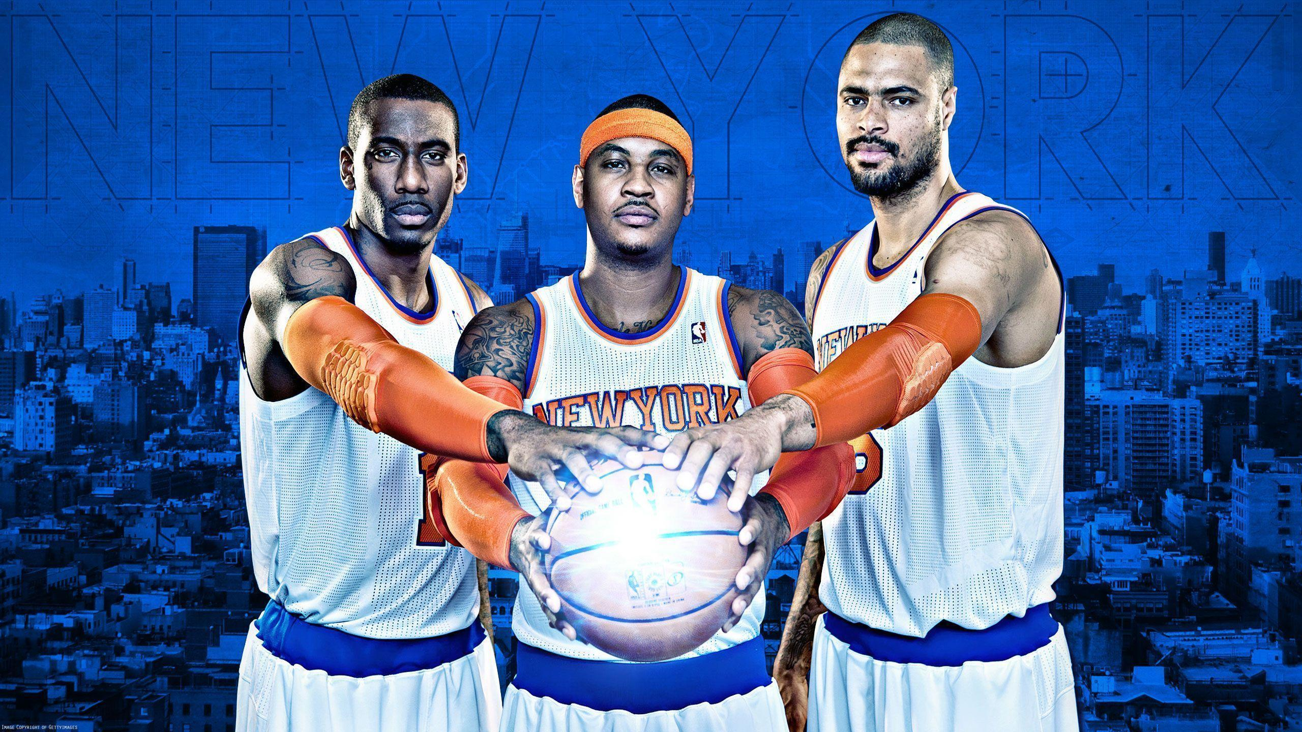 Knicks 2013 Big 3 2560x1440 Wallpapers