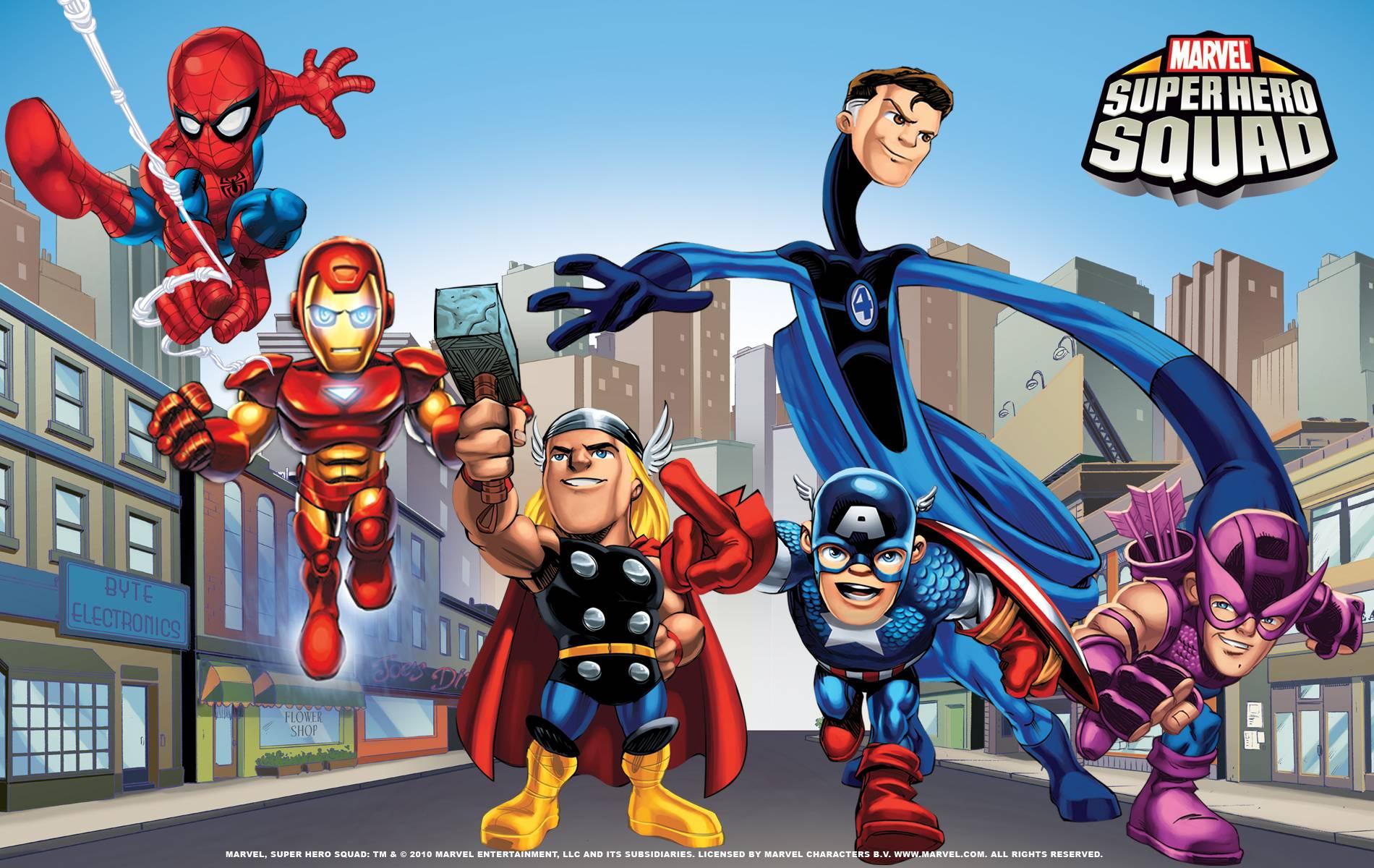 Marvel Super Heroes 60 Superhéroes: Free Superhero Wallpapers