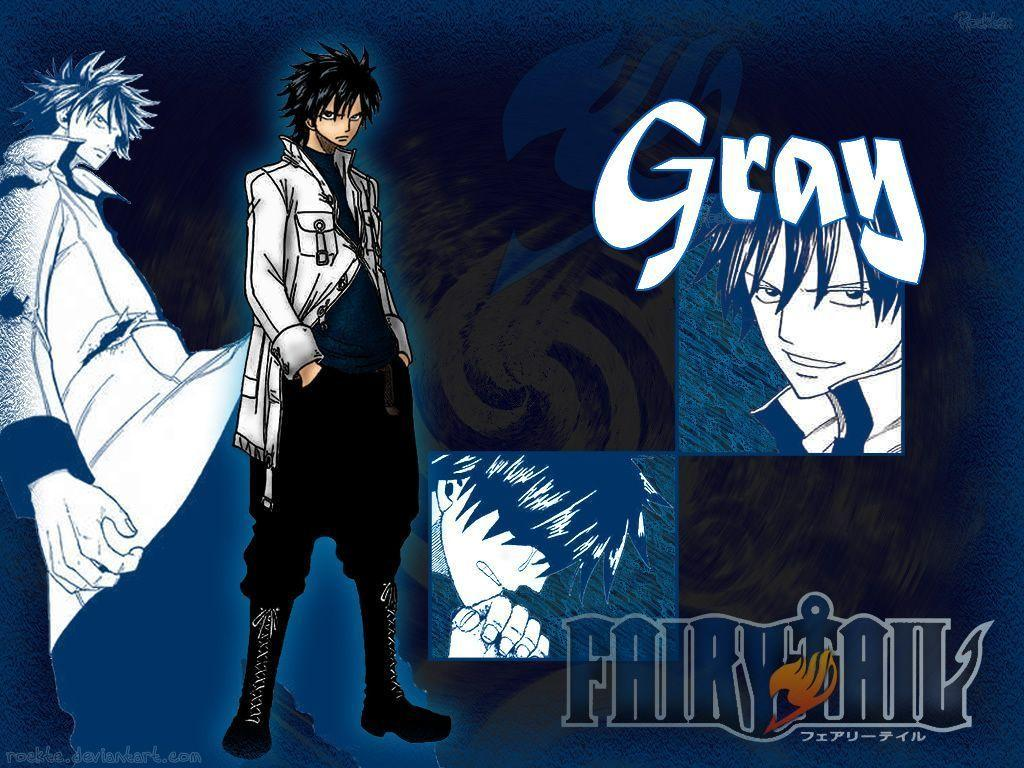 Wallpapers For > Fairy Tail Wallpapers Gray Fullbuster