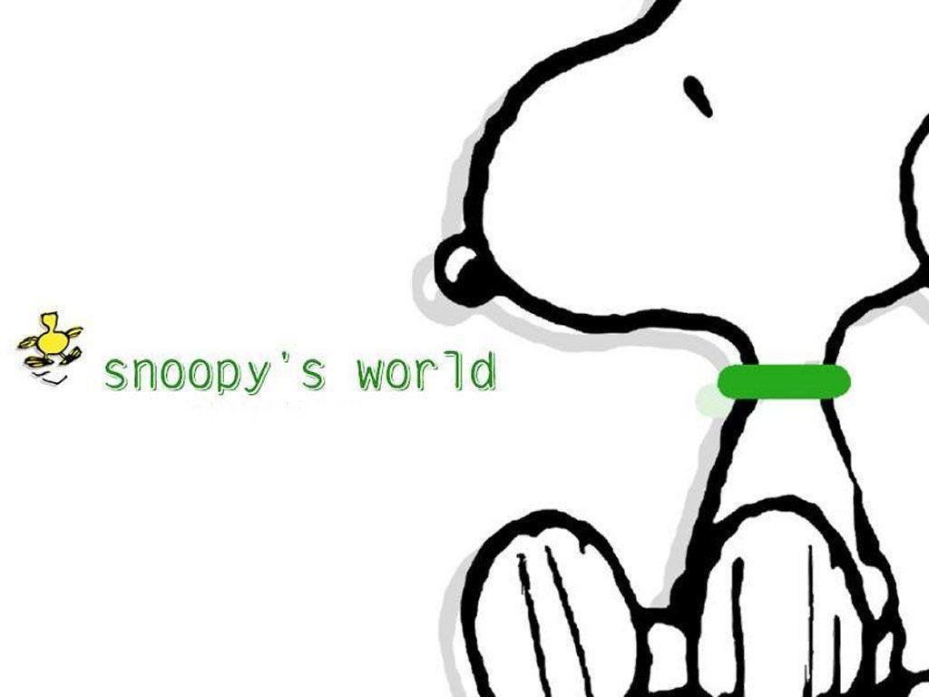Snoopy Desktop Wallpapers Wallpaper Cave
