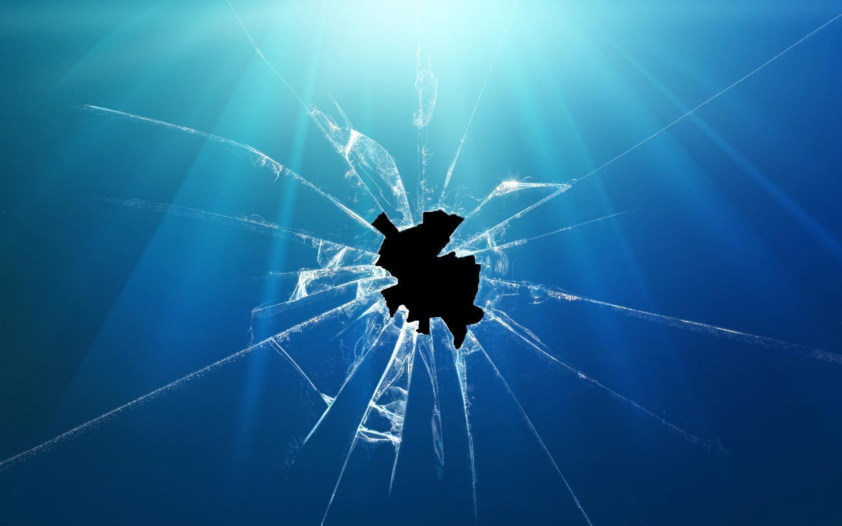 cracked screen wallpaper for - photo #10